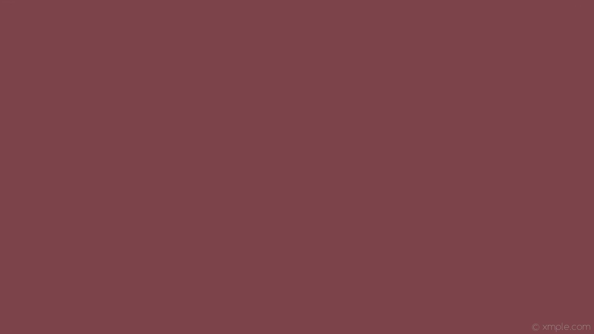 wallpaper single red plain solid color one colour #7c434b