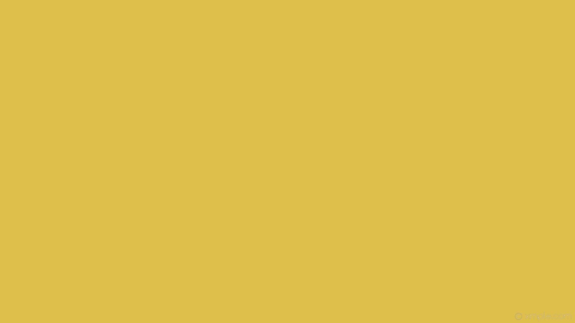 wallpaper one colour yellow single plain solid color #dfbf4c