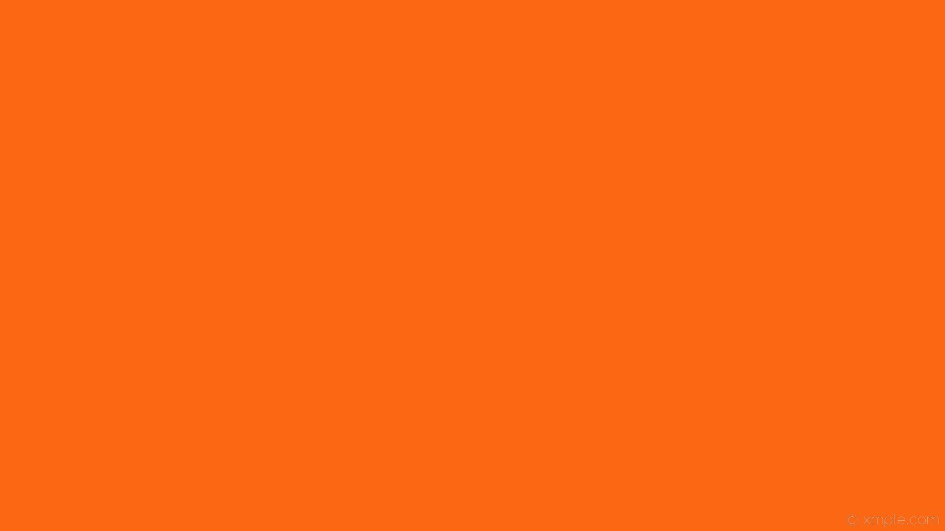 wallpaper one colour solid color single plain orange #fb6713
