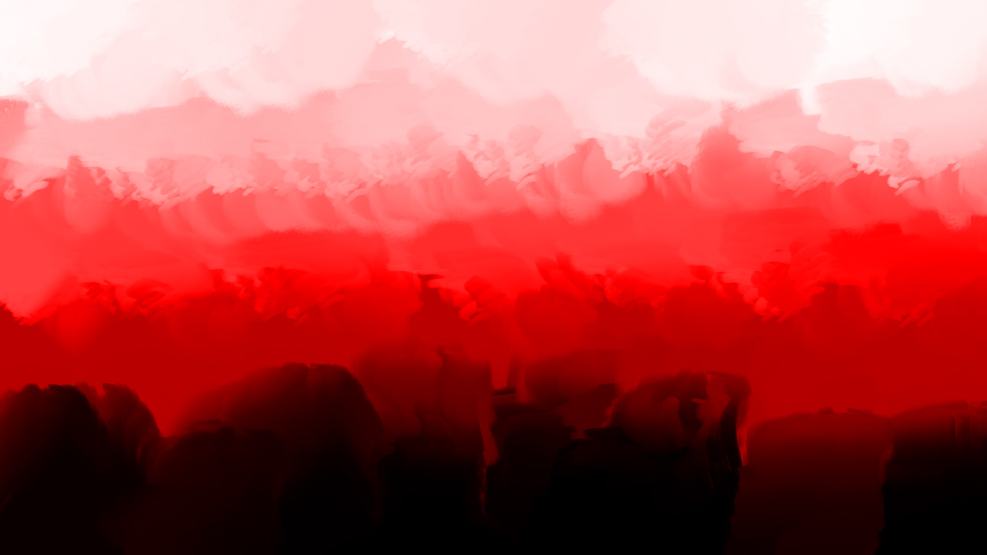 … Red, Black, and White abstract #1 by QUE-SAGE