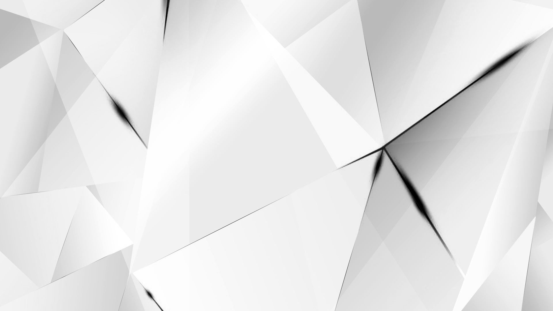 … Wallpapers – Black Abstract Polygons (White BG) by kaminohunter