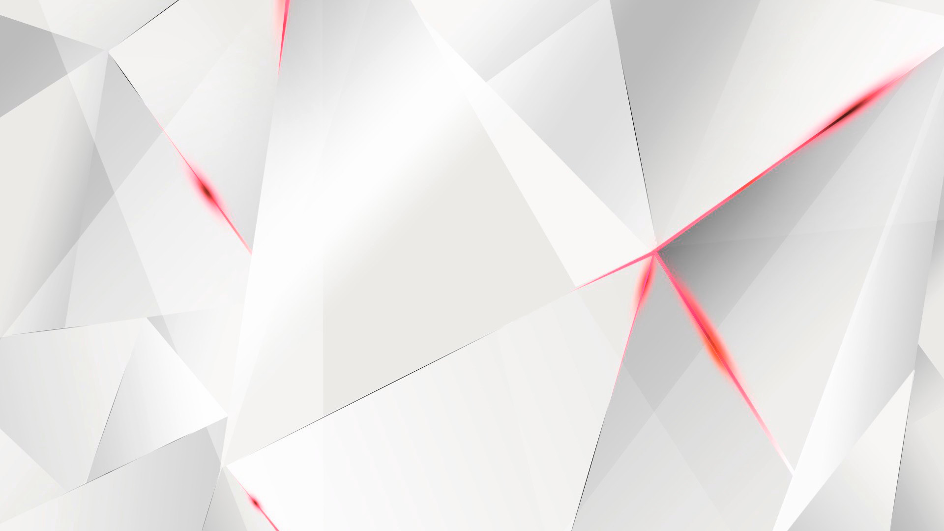 … Wallpapers – Red Abstract Polygons (White BG) by kaminohunter