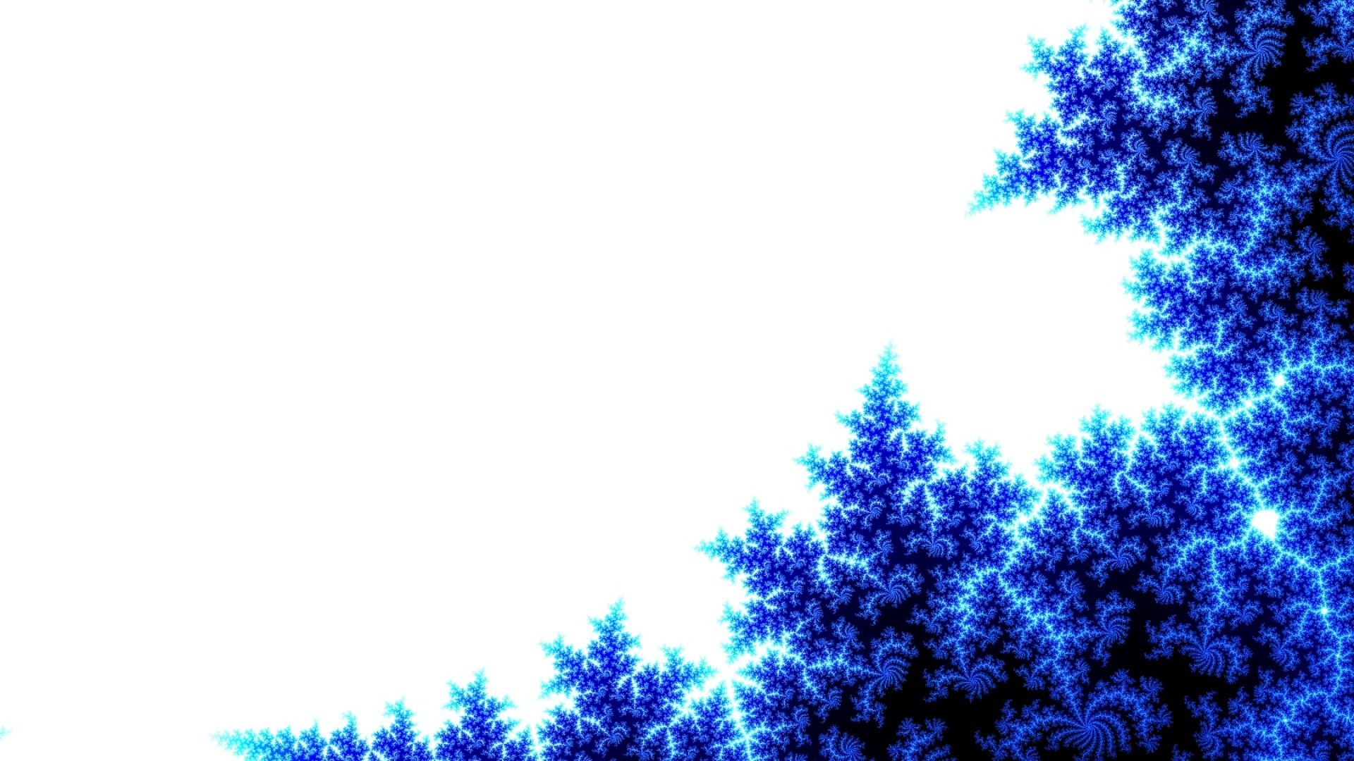 Wallpaper abstract, blue, tree, white