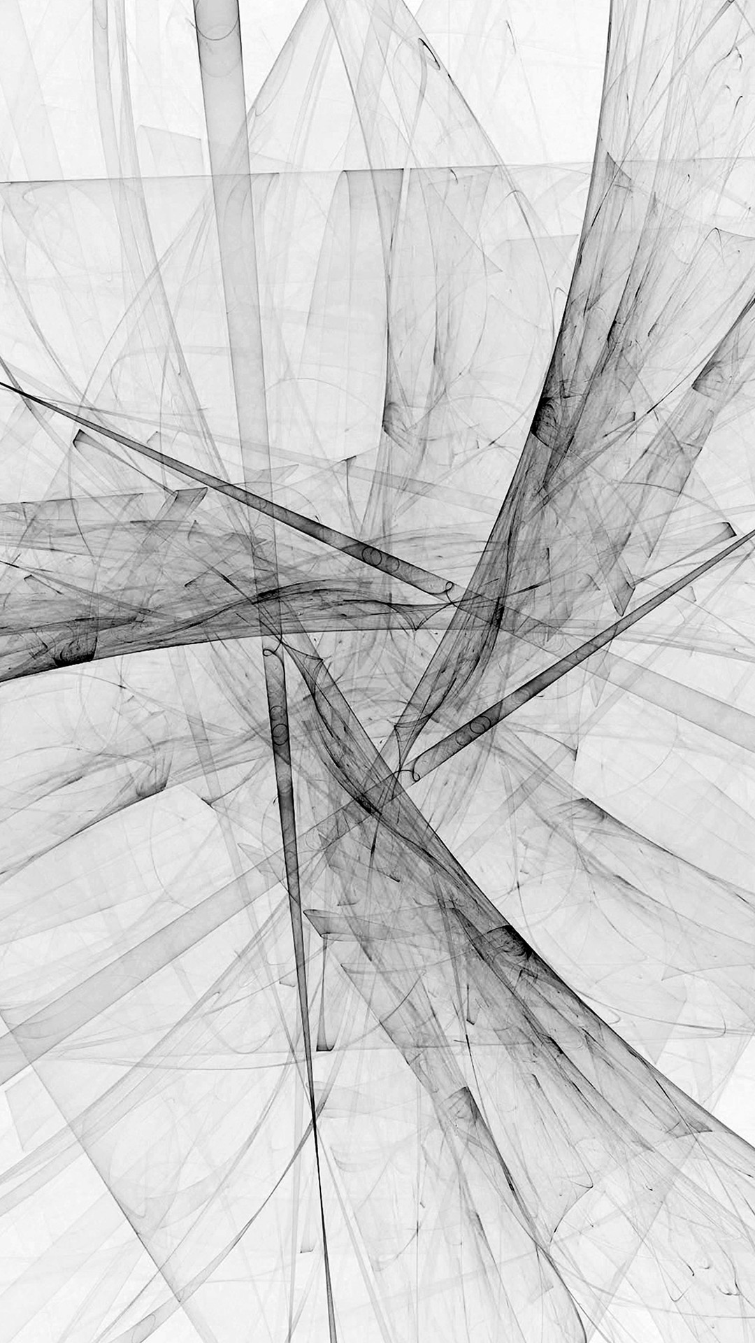 Triangle Art Abstract Bw White Pattern iPhone 8 wallpaper