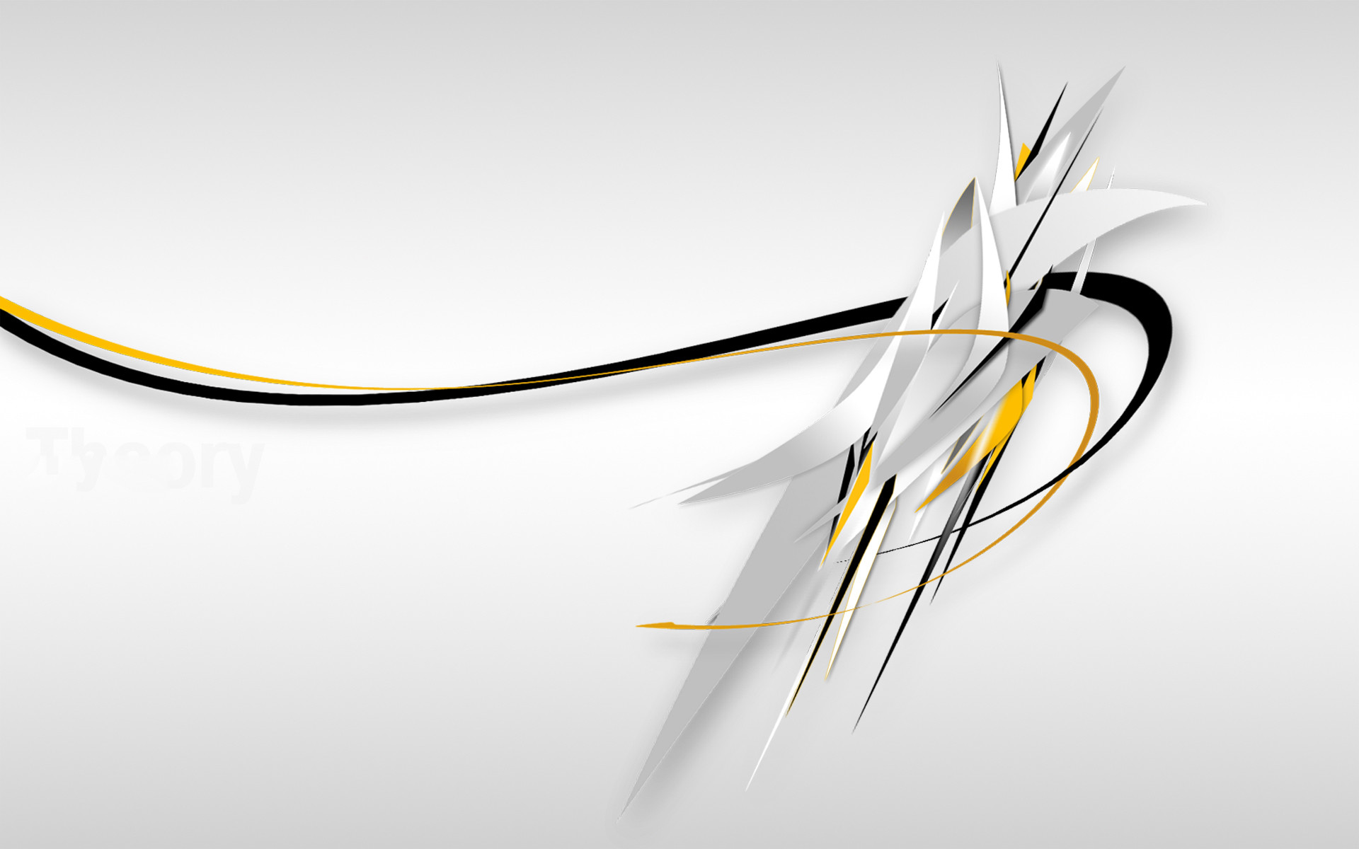 Abstract – White Wallpaper
