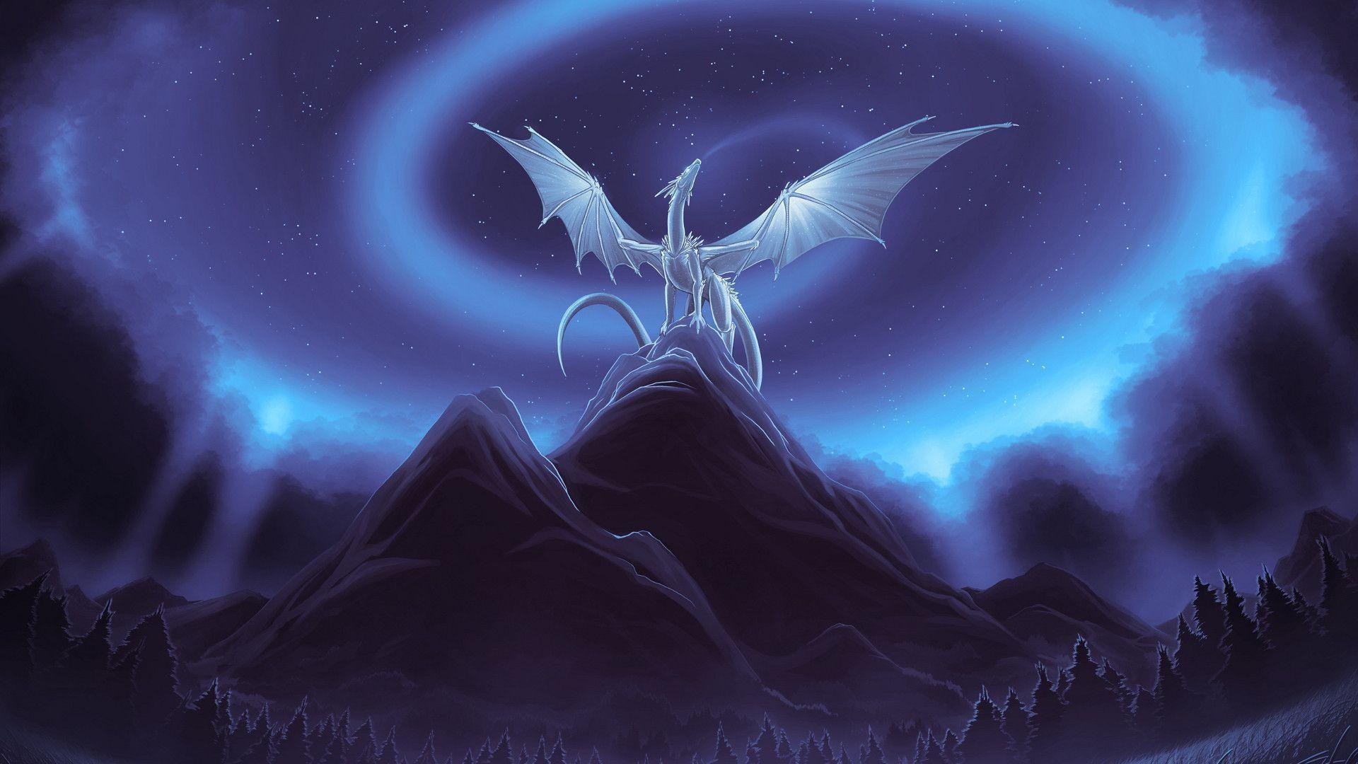 130 Blue Dragon Wallpaper Hd