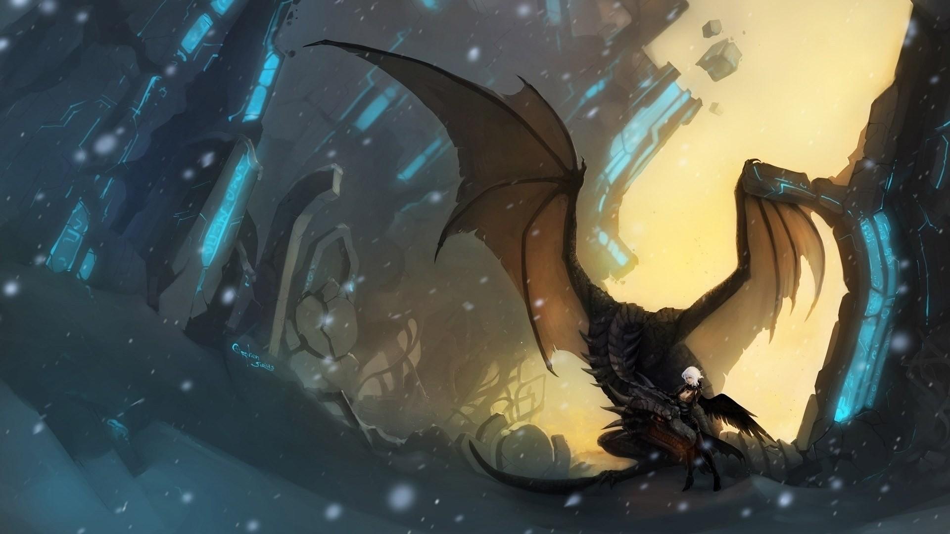 hd blue eyes white dragon wallpaper