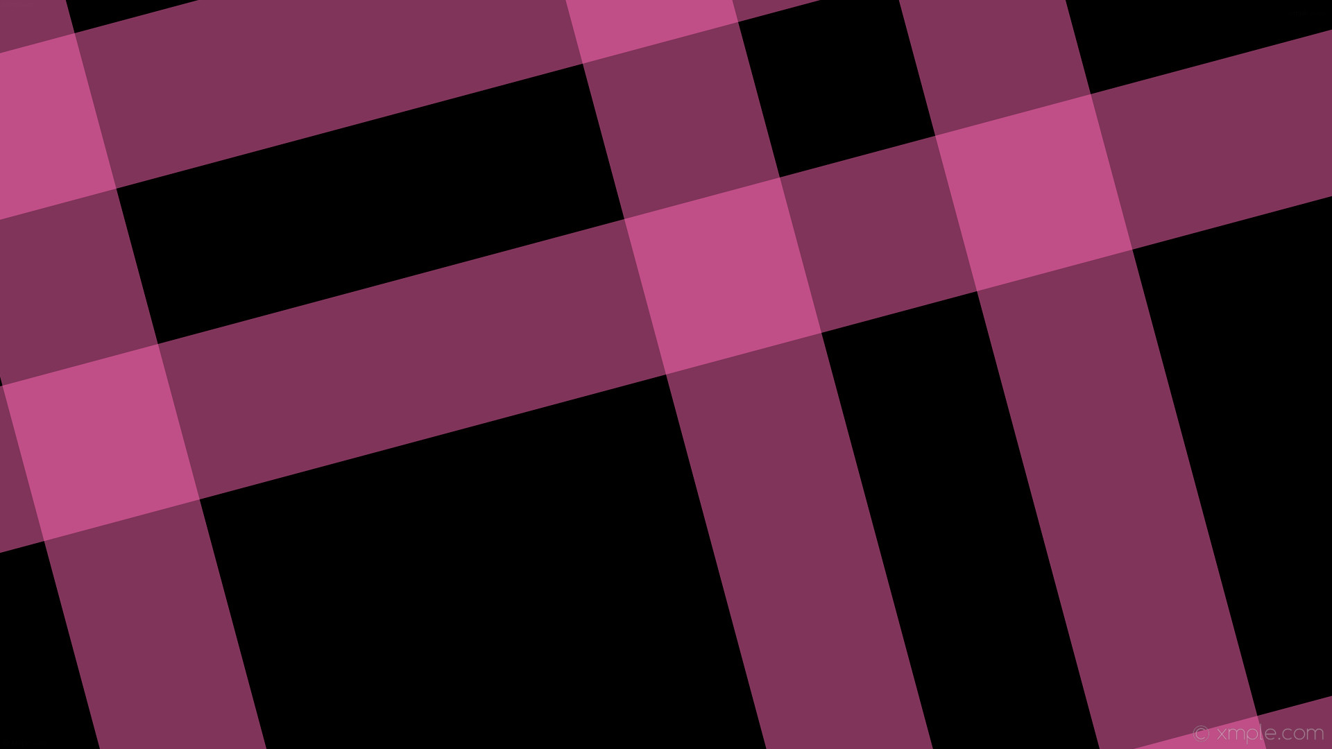 wallpaper pink black dual gingham striped hot pink #000000 #ff69b4 105°  232px