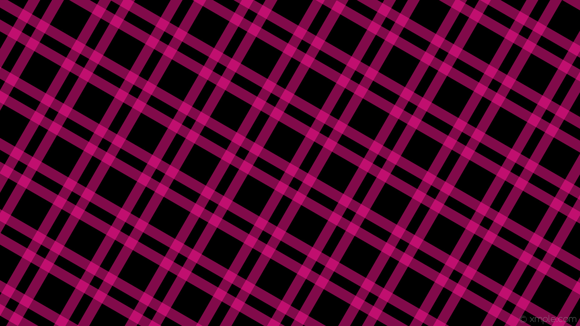 wallpaper striped dual pink gingham black deep pink #000000 #ff1493 330°  34px