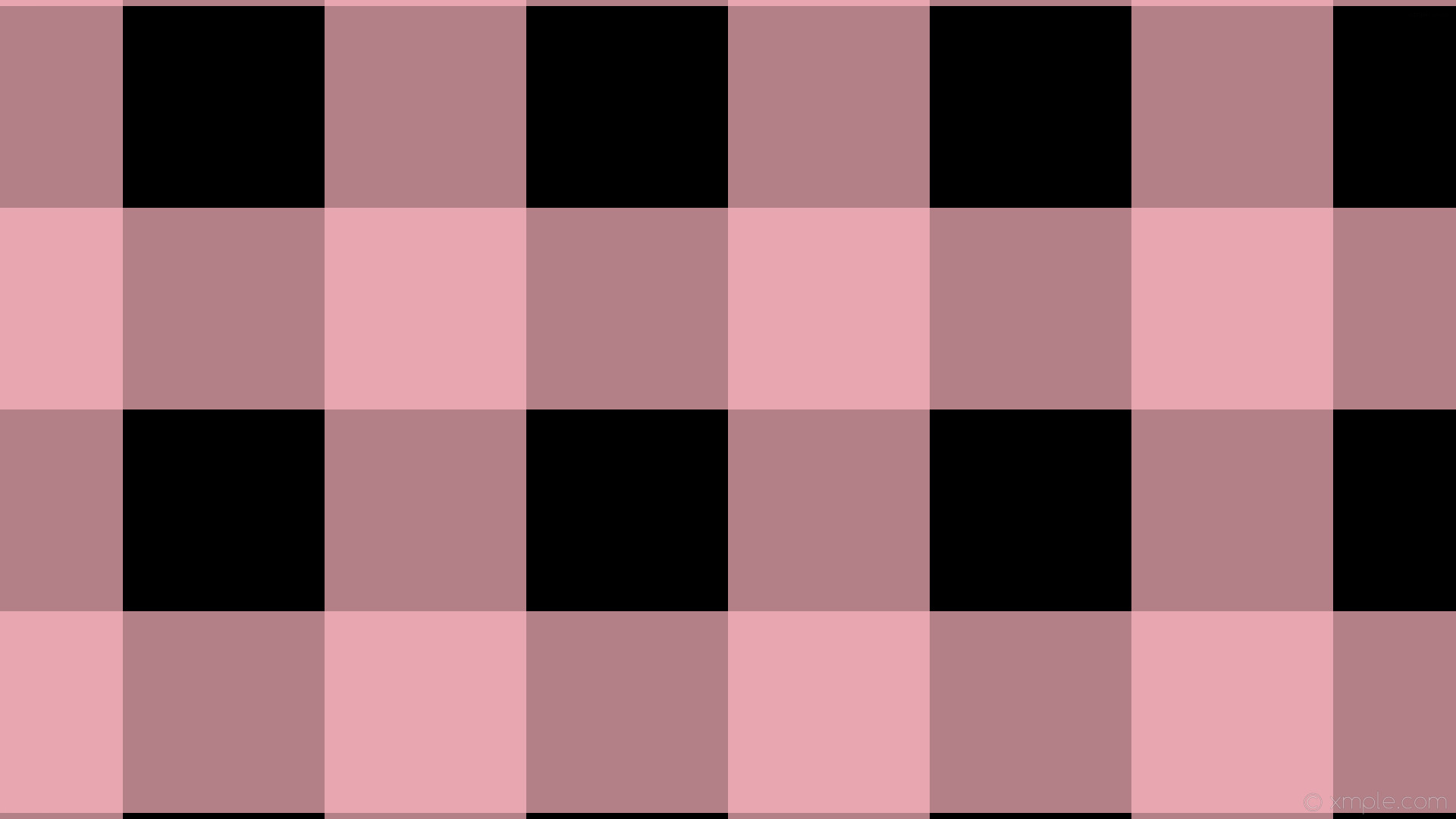 wallpaper striped black pink gingham checker light pink #000000 #ffb6c1 90°  266px