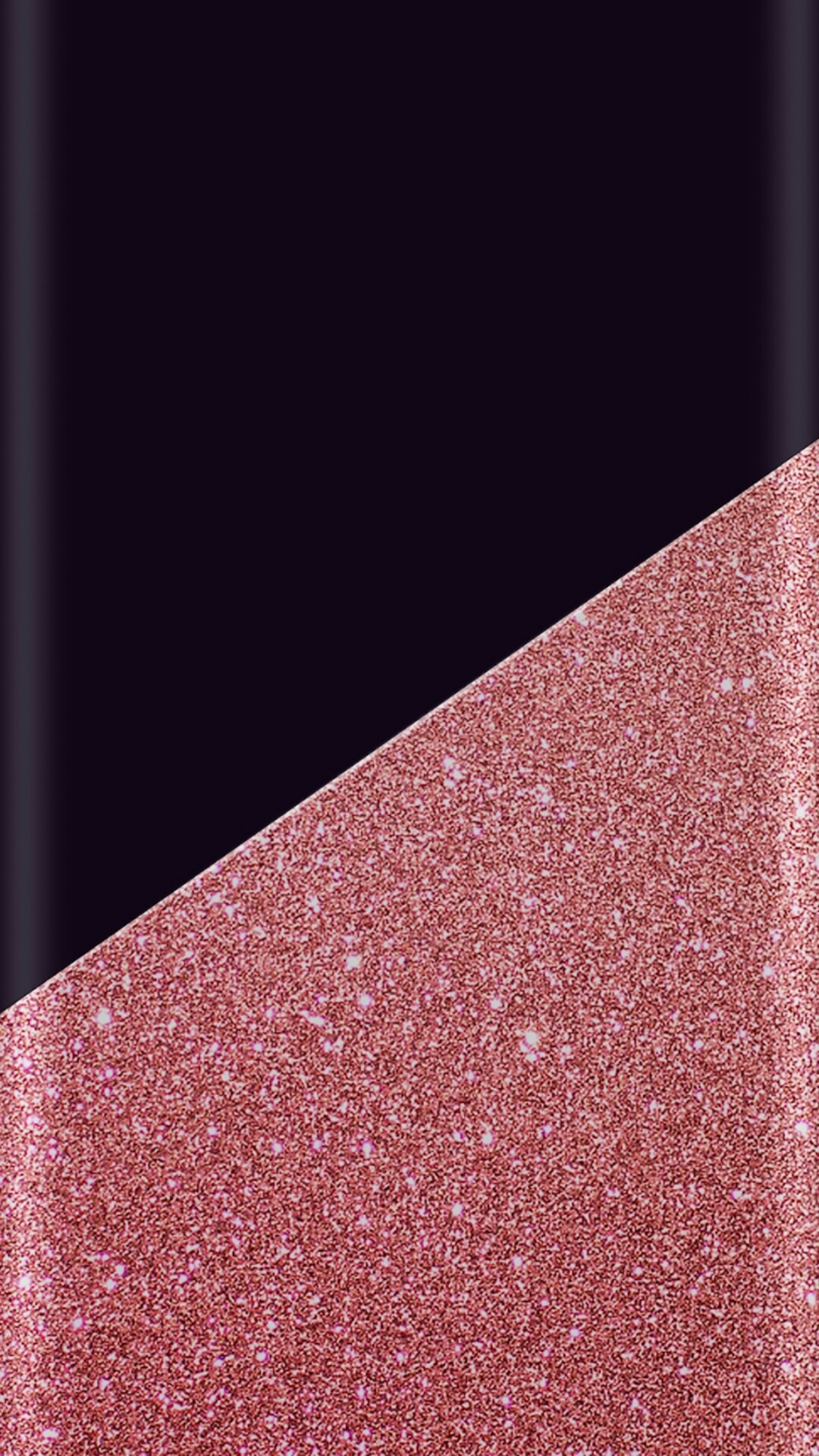 Pink Sparkle and Black Wallpaper
