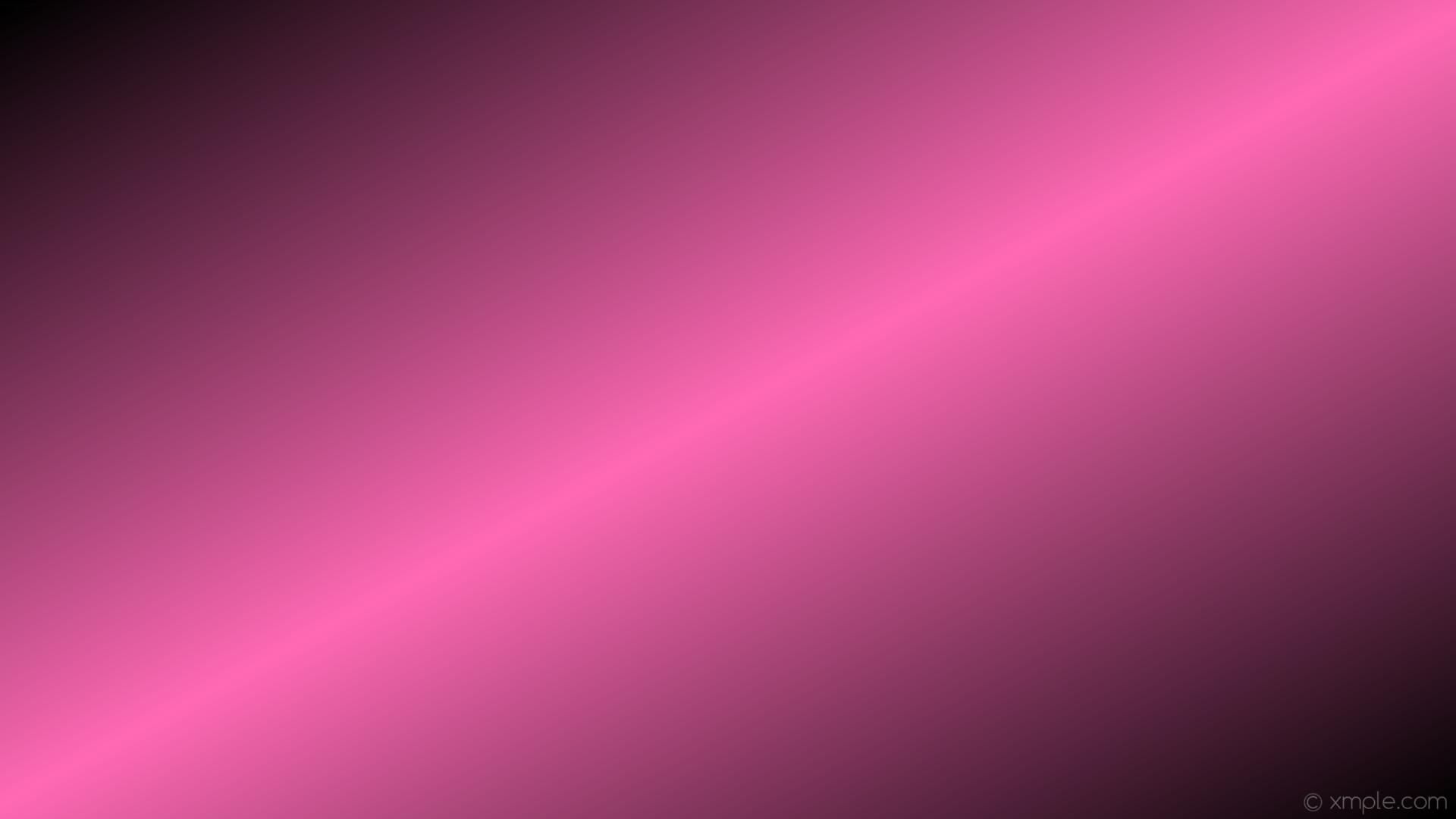 wallpaper linear pink black gradient highlight hot pink #000000 #ff69b4  150° 50%