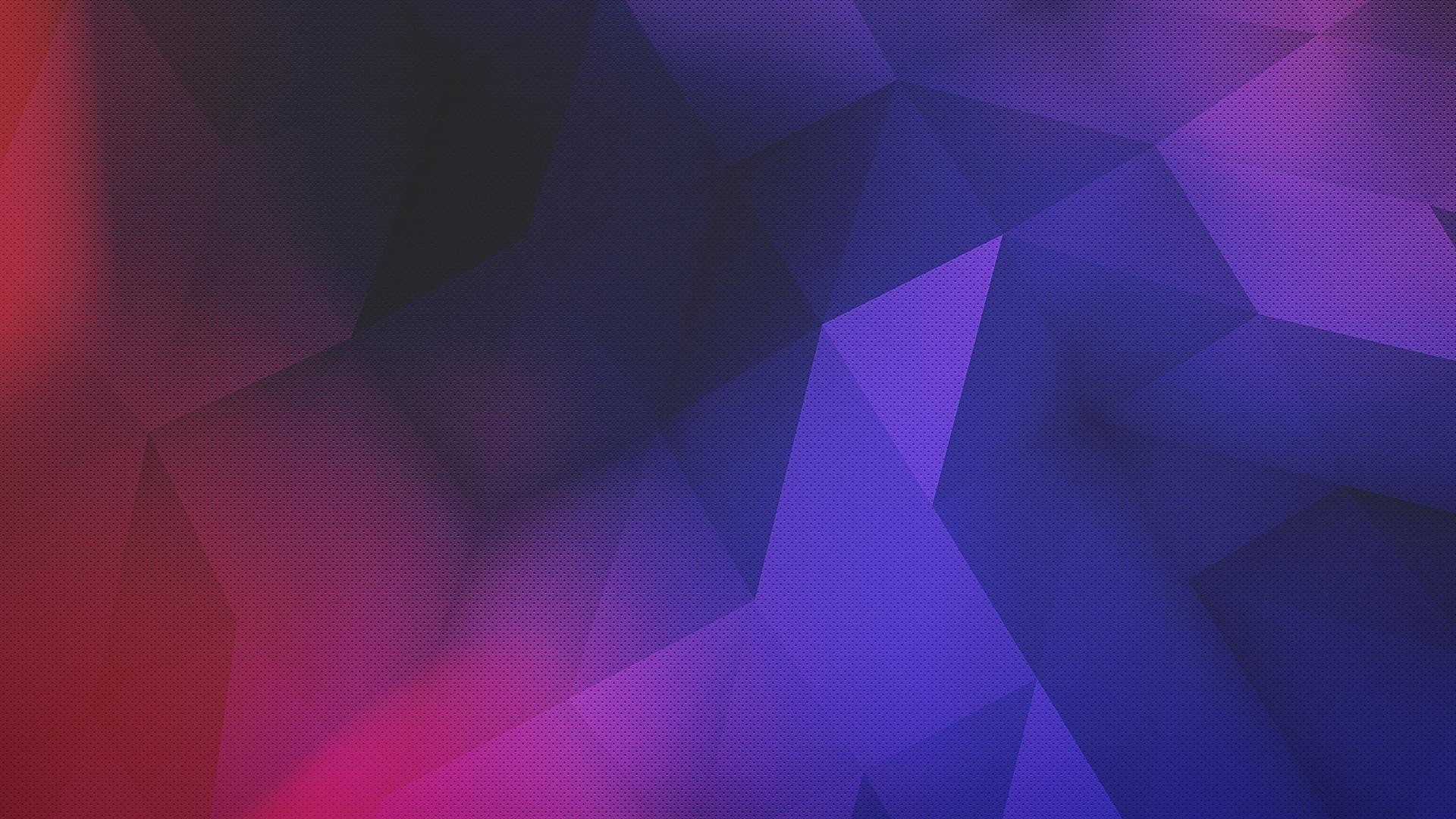 purple, red, abstract, digital art, low poly, blue, artwork .