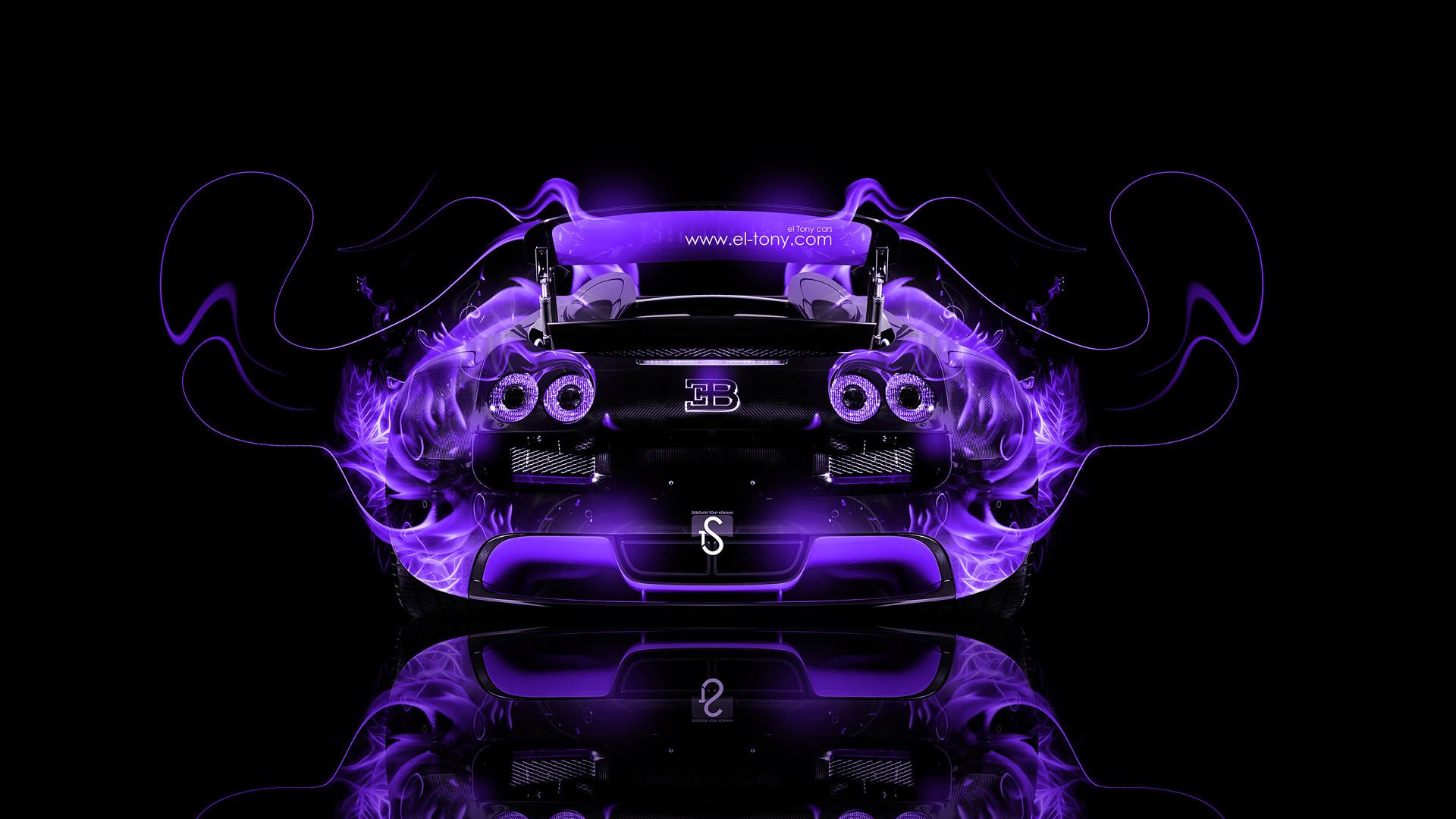 Bugatti Veyron Back Fire Abstract Car 2014. bugatti veyron wallpapers