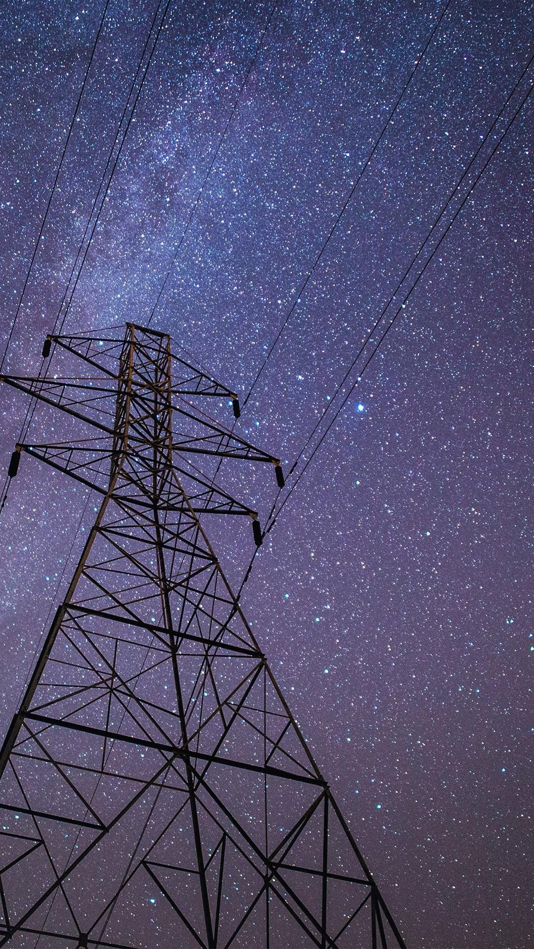 Night Sky Dark Star Space Galaxy Nature #iPhone #6 #plus #wallpaper