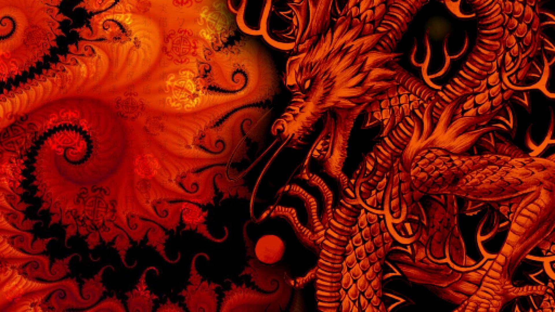 118 Red Dragon Wallpaper Hd