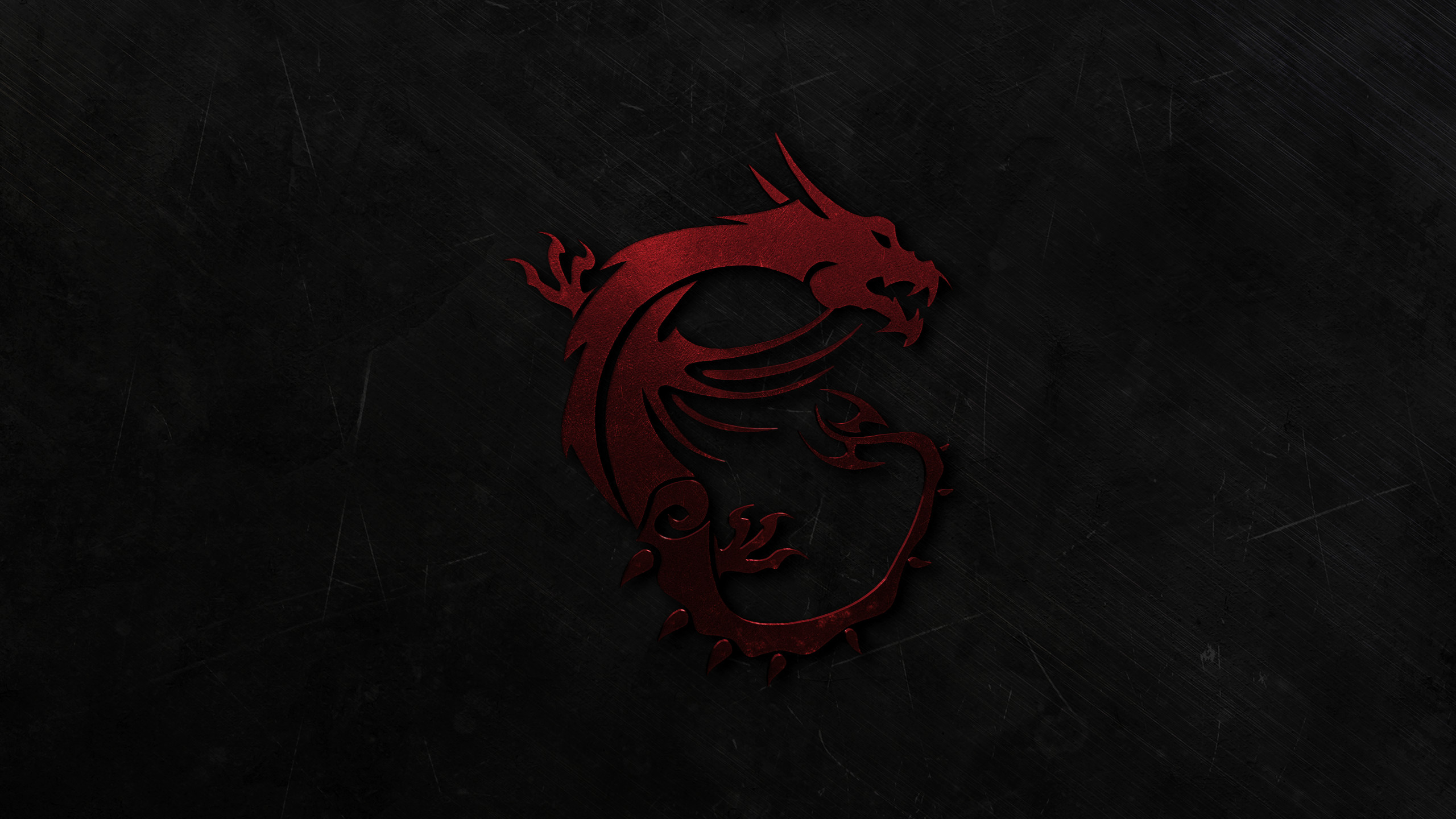 … MSI Gaming Dragon Wallpaper V2 (Red) by Xilent21