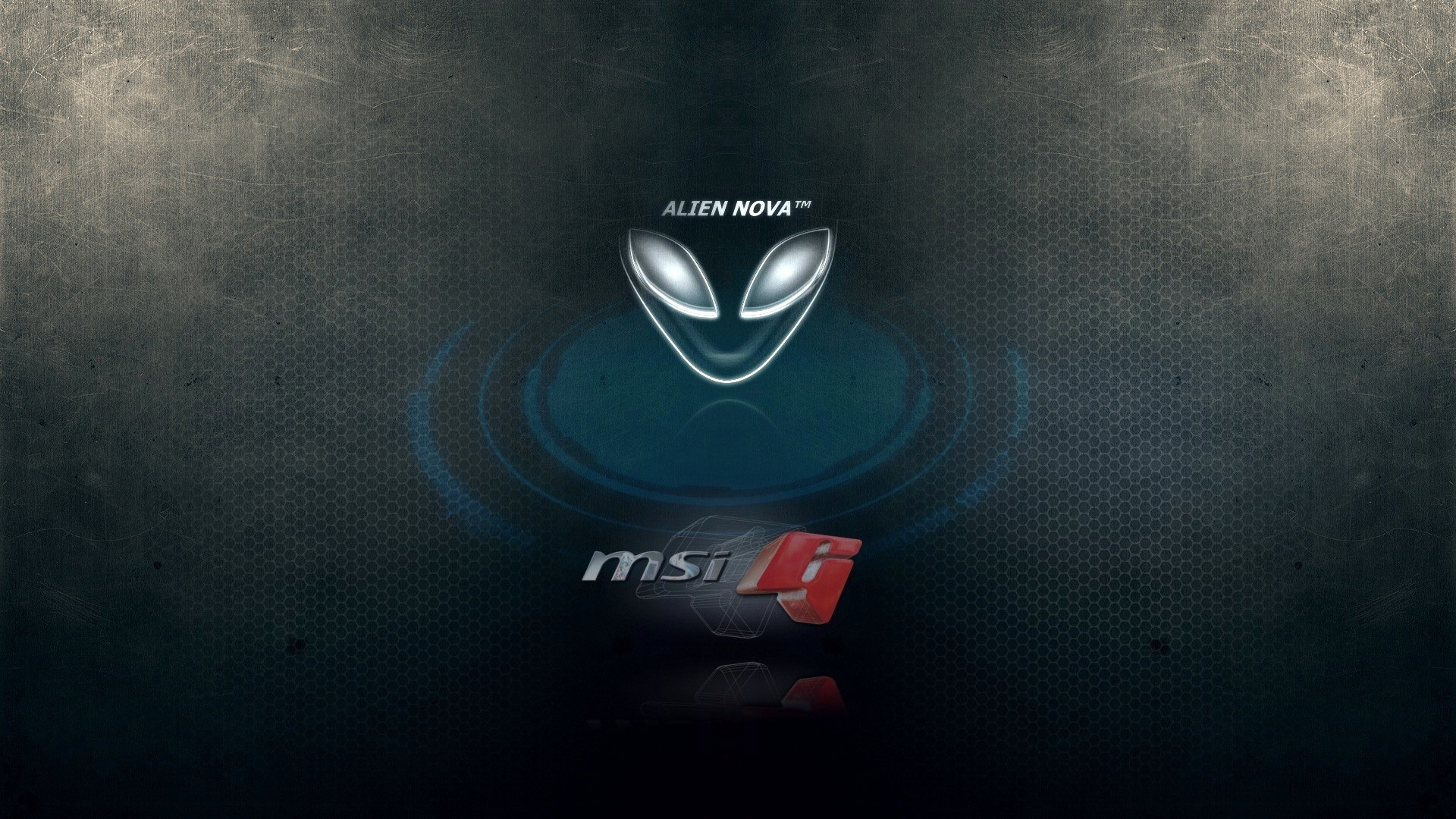 alienware and MSi g logo hd 1080p wallpaper. compatible for .
