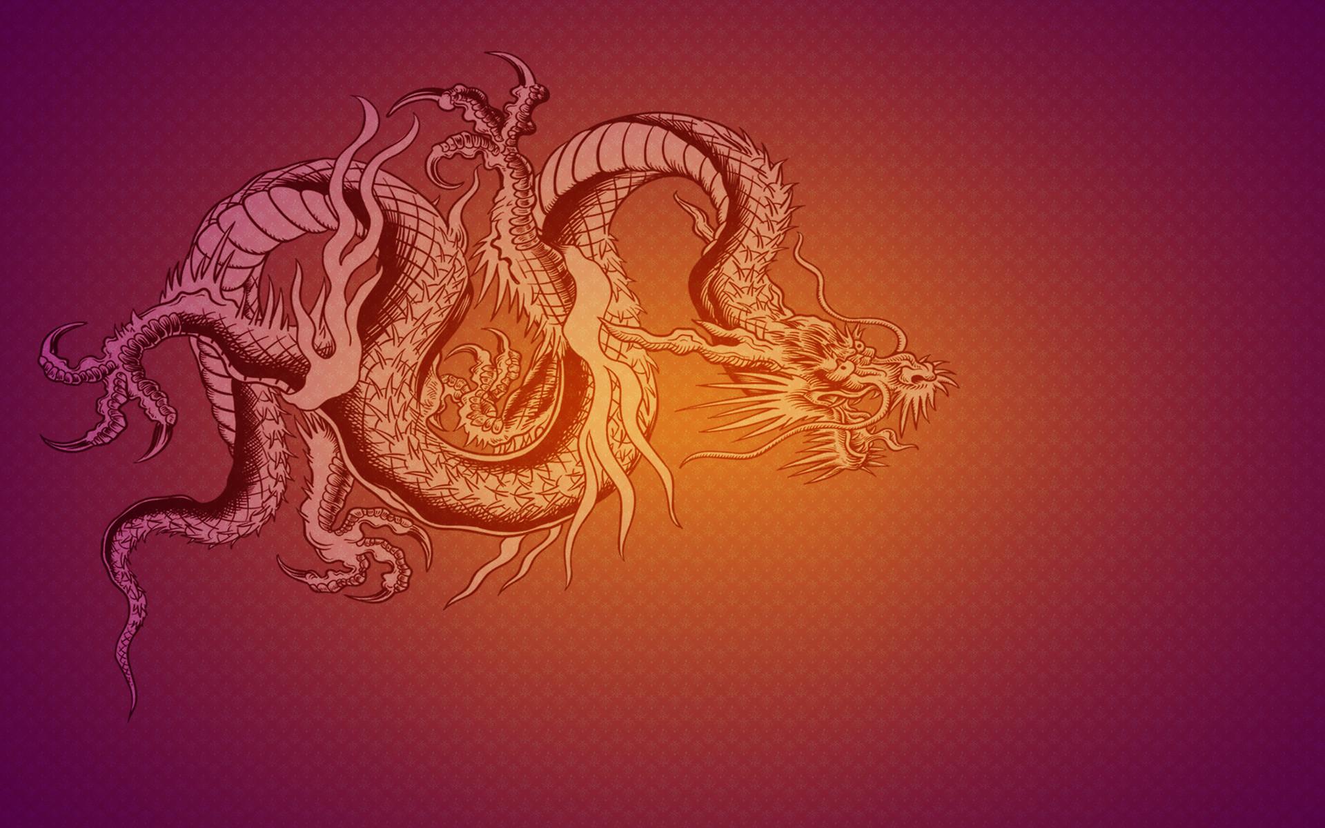 The dragon flag