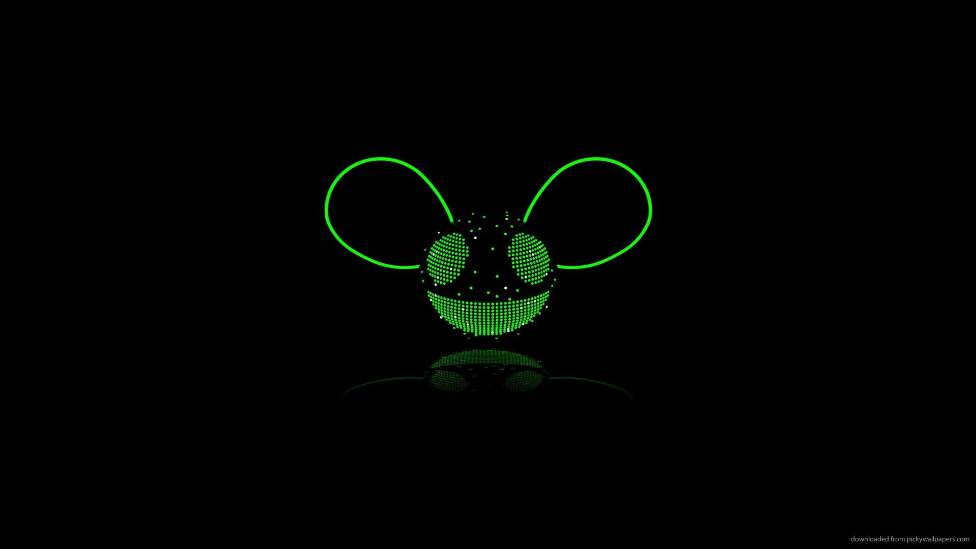 Deadmau5 green for 1920×1080