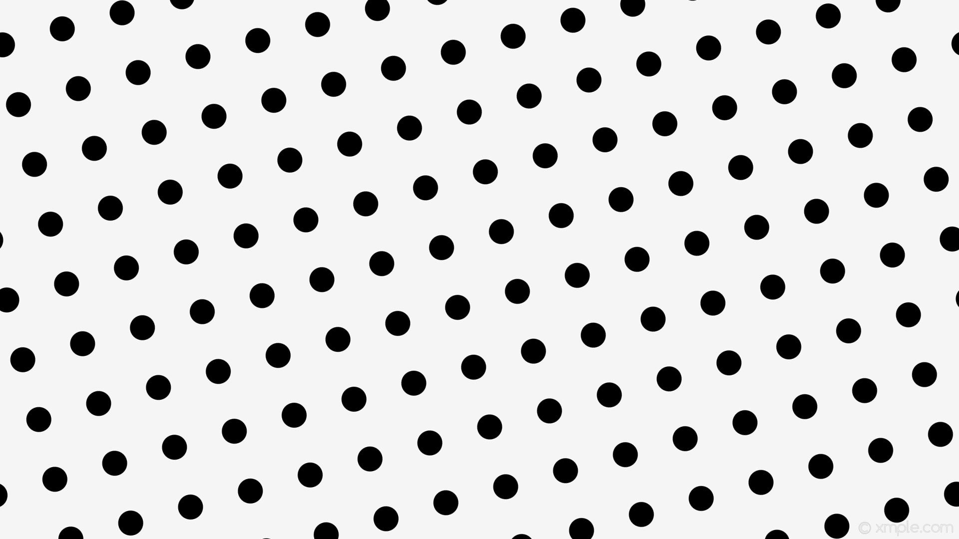 wallpaper polka white dots spots black white smoke #f5f5f5 #000000 105°  50px 124px