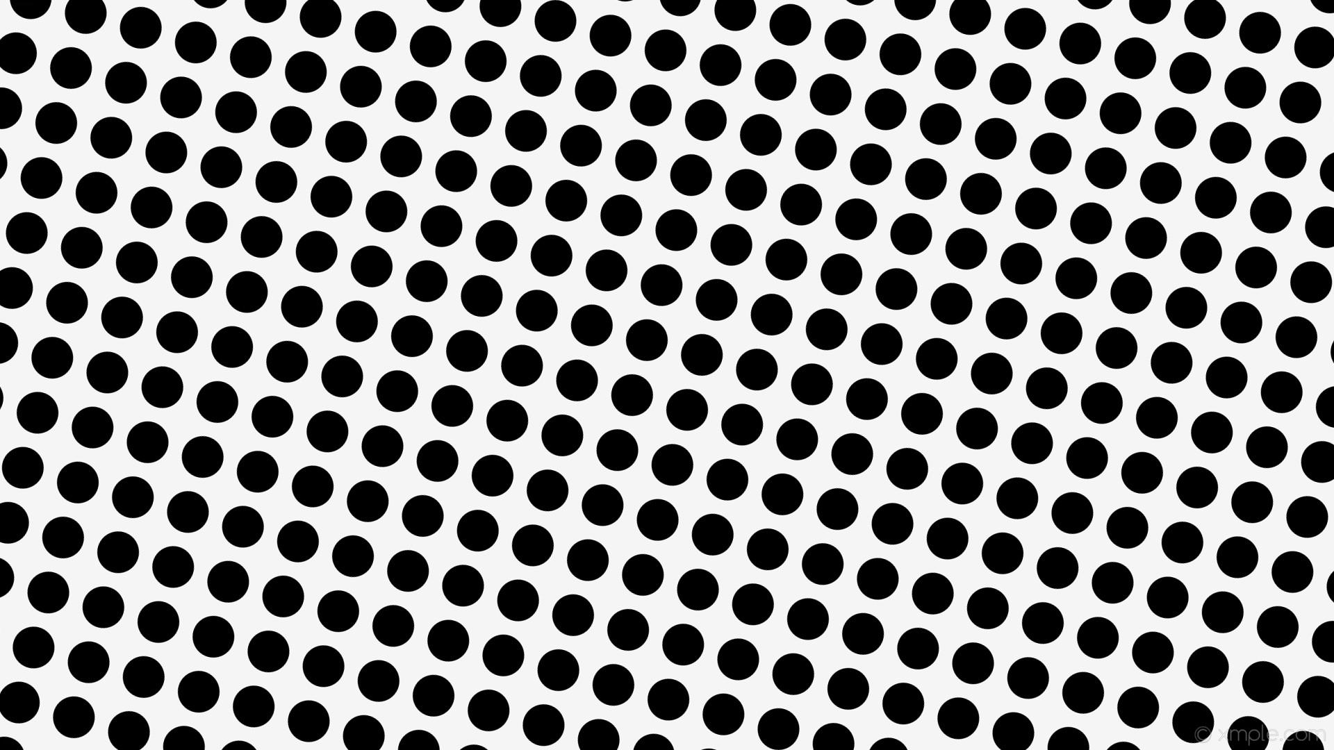 wallpaper polka white dots spots black white smoke #f5f5f5 #000000 255°  60px 82px