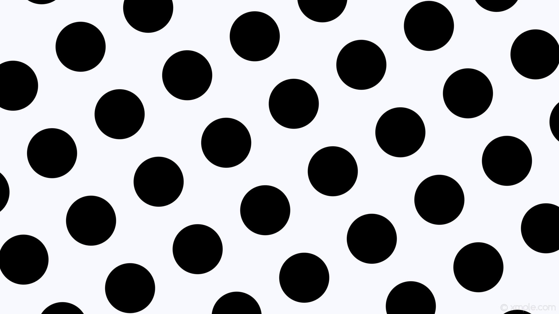 wallpaper dots white polka black spots ghost white #f8f8ff #000000 210°  172px 268px