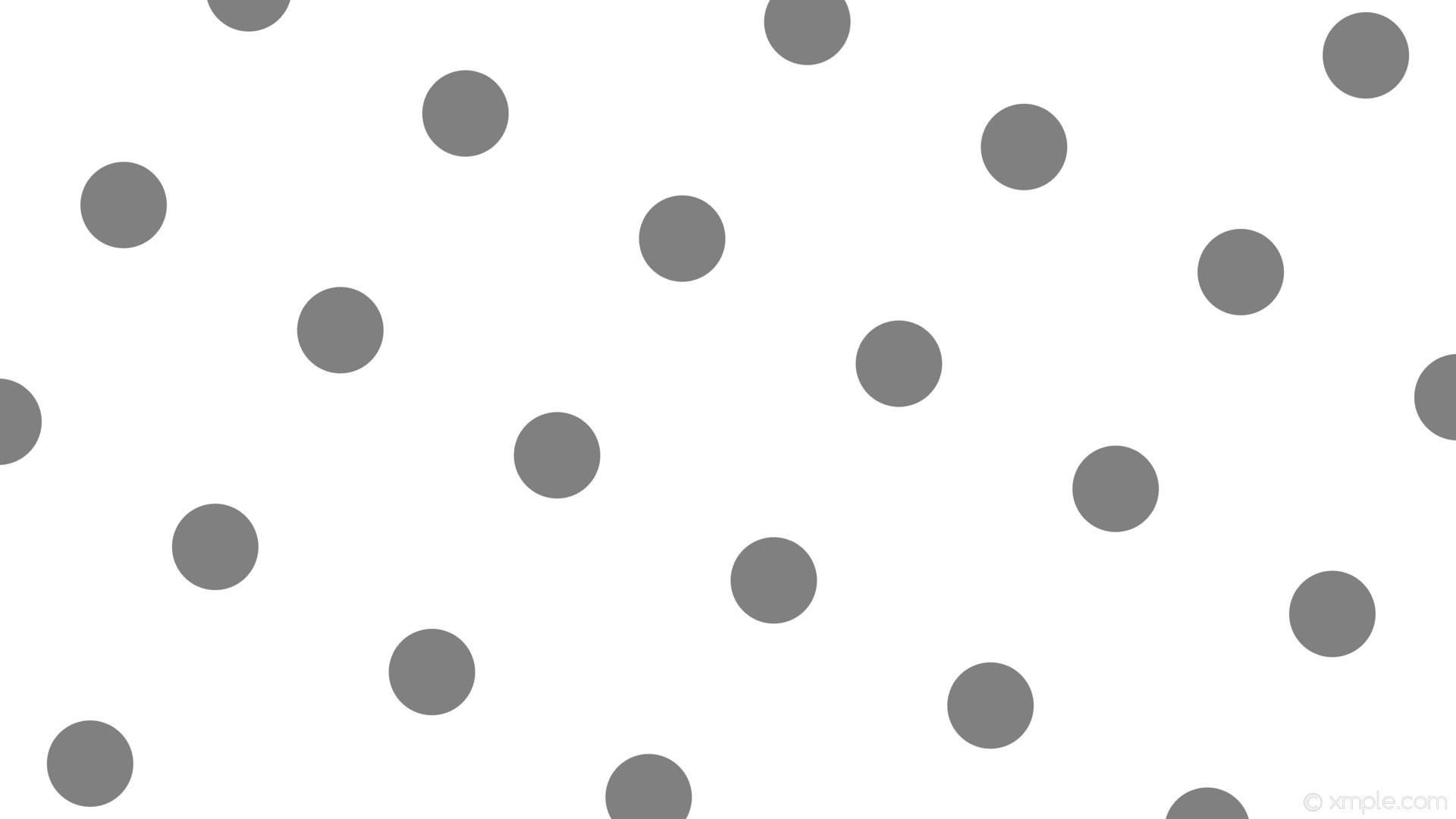 wallpaper dots grey polka spots white gray #ffffff #808080 150° 114px 330px