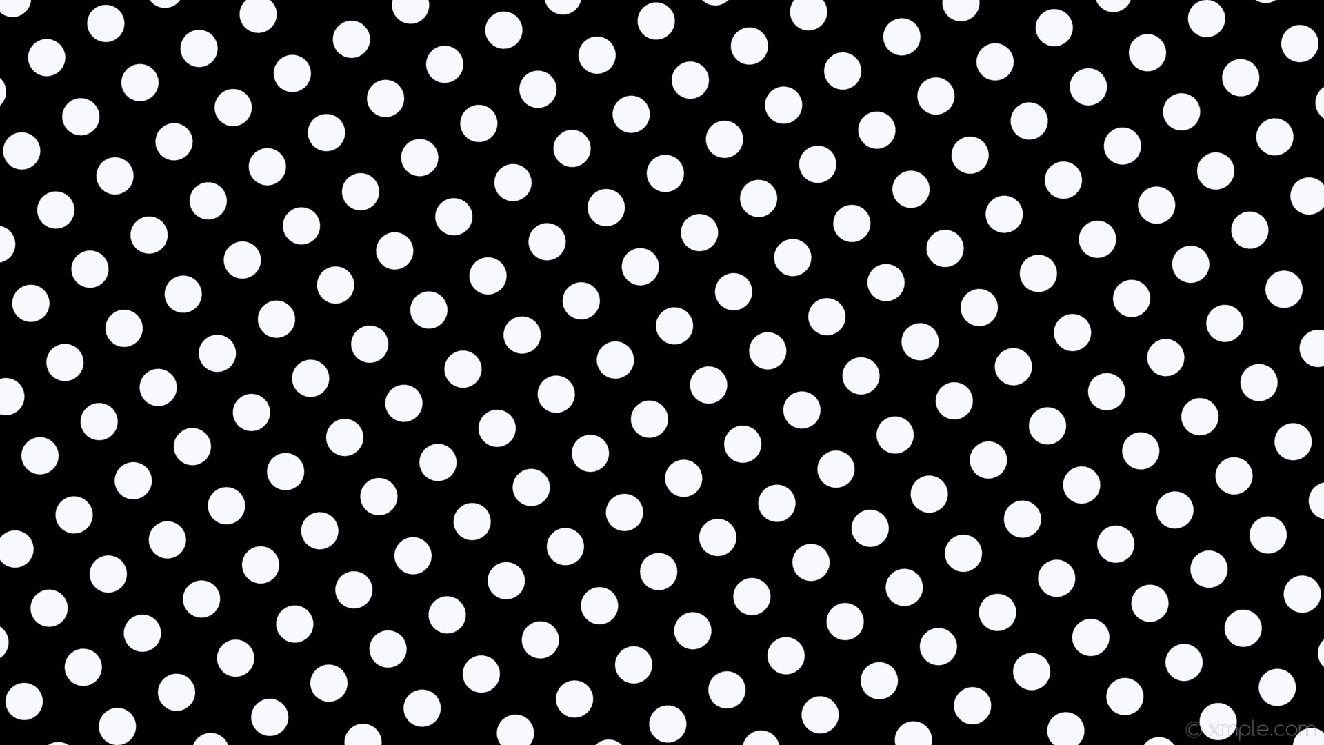wallpaper spots black dots white polka ghost white #000000 #f8f8ff 210°  54px 99px