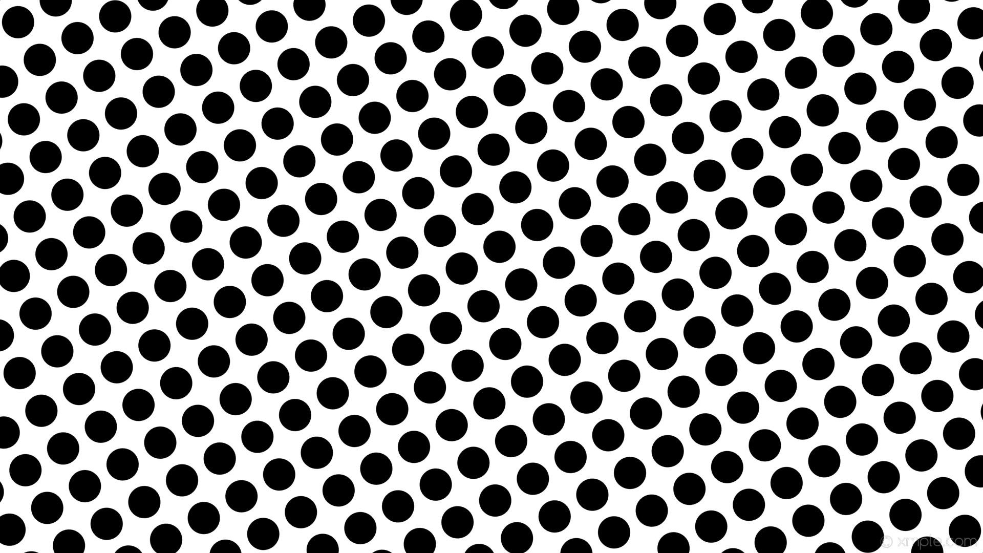 wallpaper black polka dots spots white #ffffff #000000 210° 63px 85px