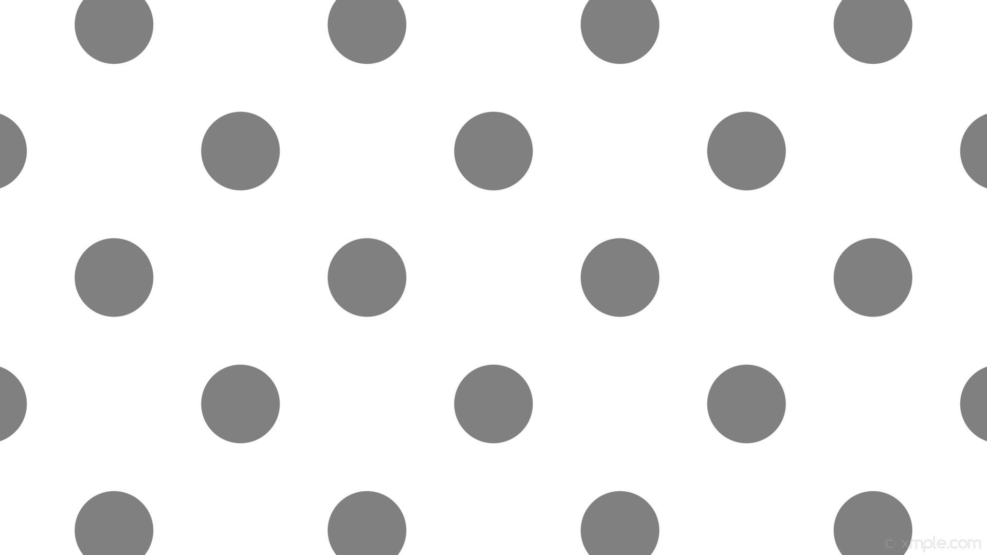 wallpaper grey polka white spots dots gray #ffffff #808080 225° 153px 348px