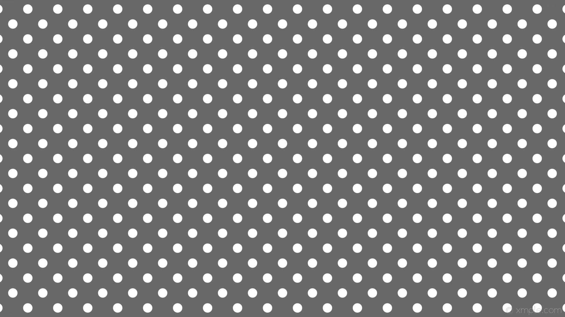 wallpaper polka dots grey spots white dim gray #696969 #ffffff 315° 32px  72px