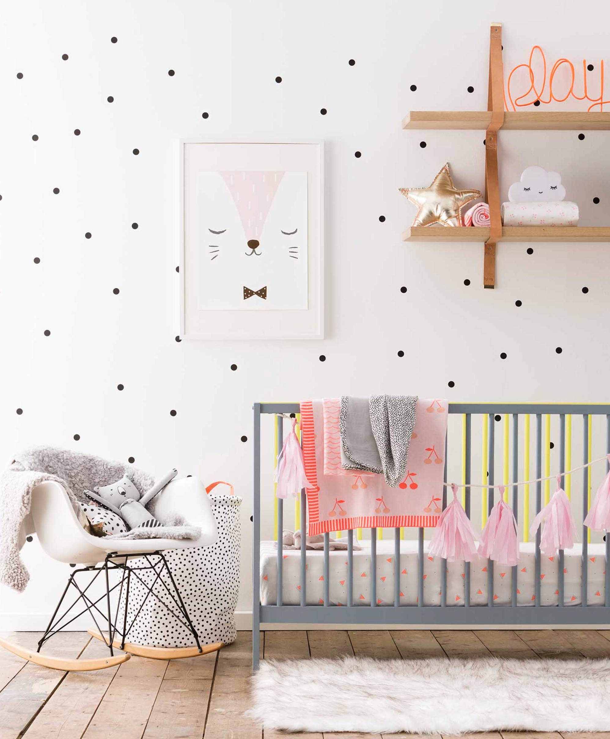 polka dot decor-homesthetics.net (1)