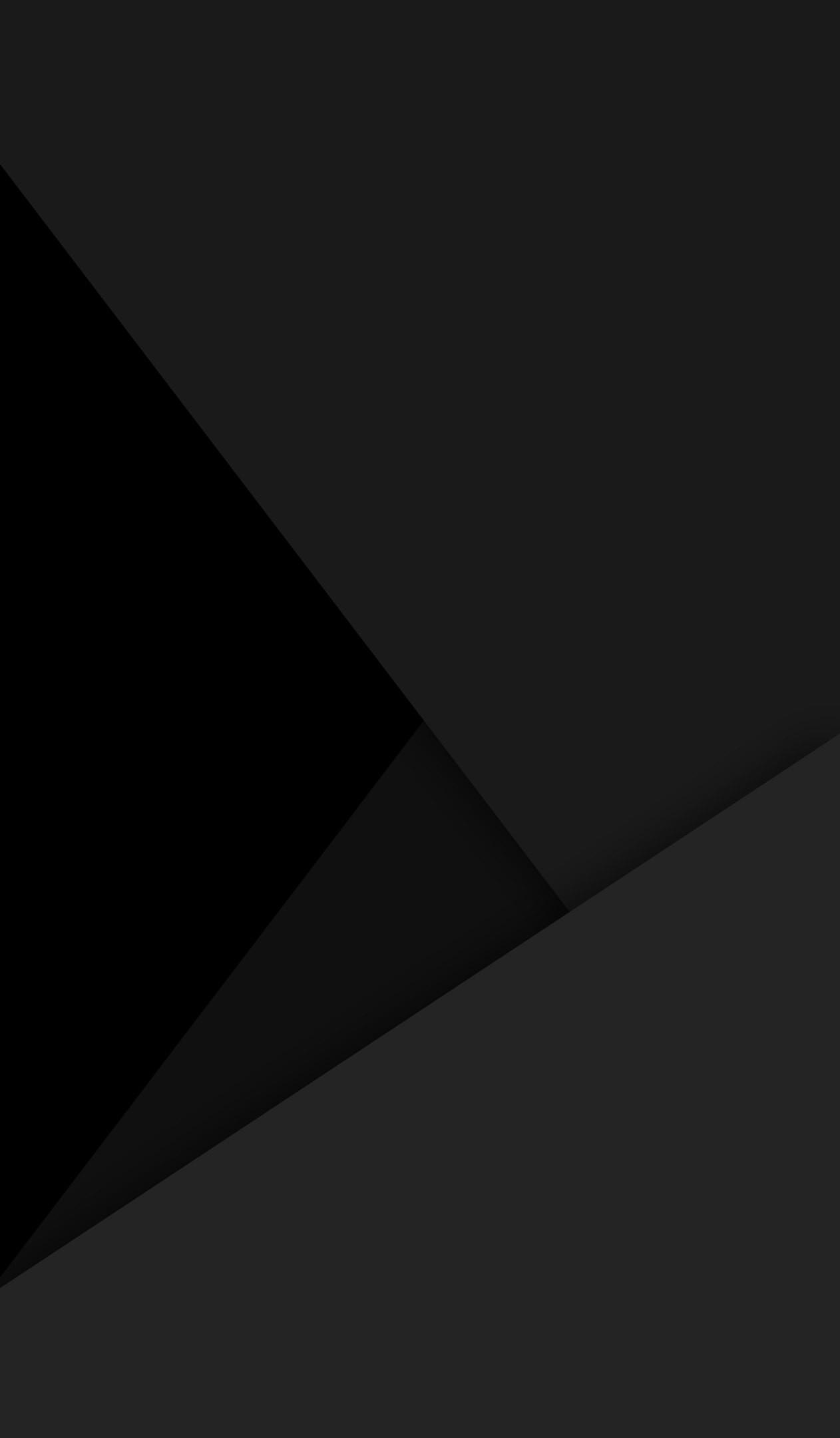 Black amoled Material design wallpaper
