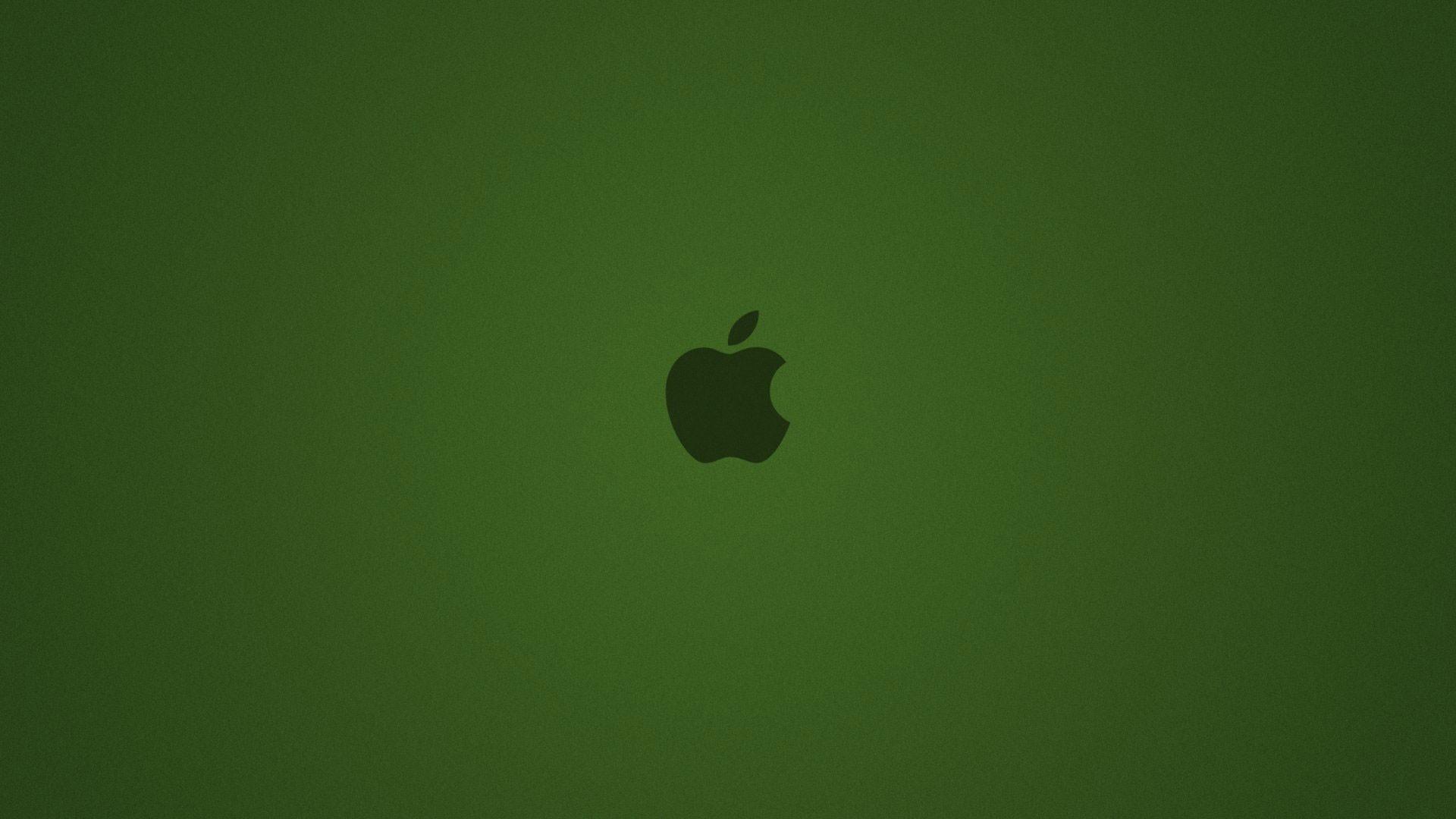 hd pics photos green apple logo dark hd quality desktop background wallpaper