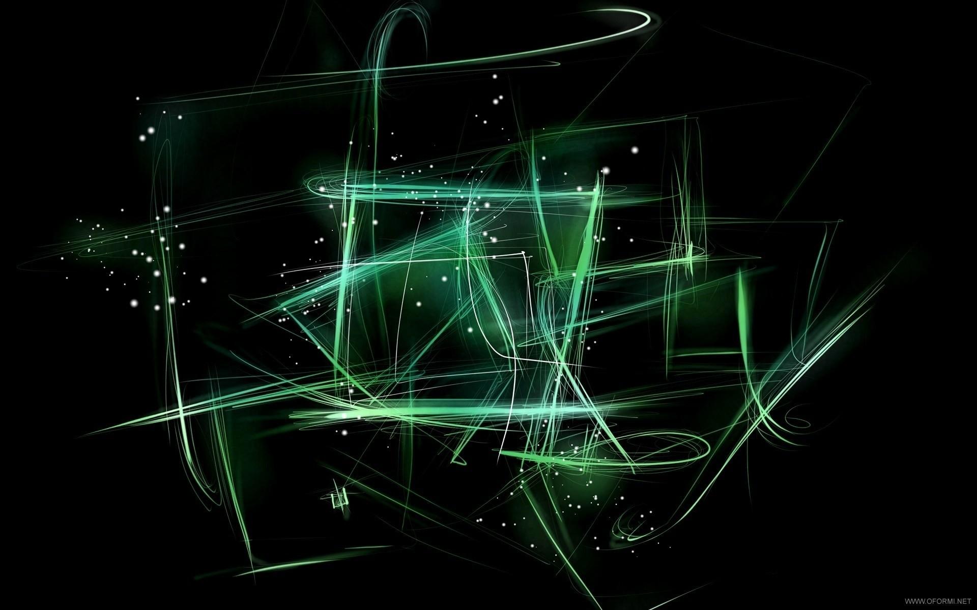 Green Widescreen Wallpaper