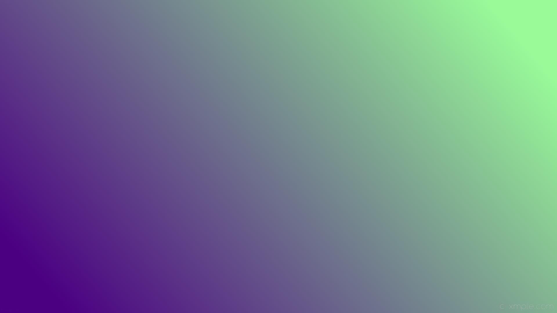 wallpaper linear gradient green purple pale green indigo #98fb98 #4b0082 15°