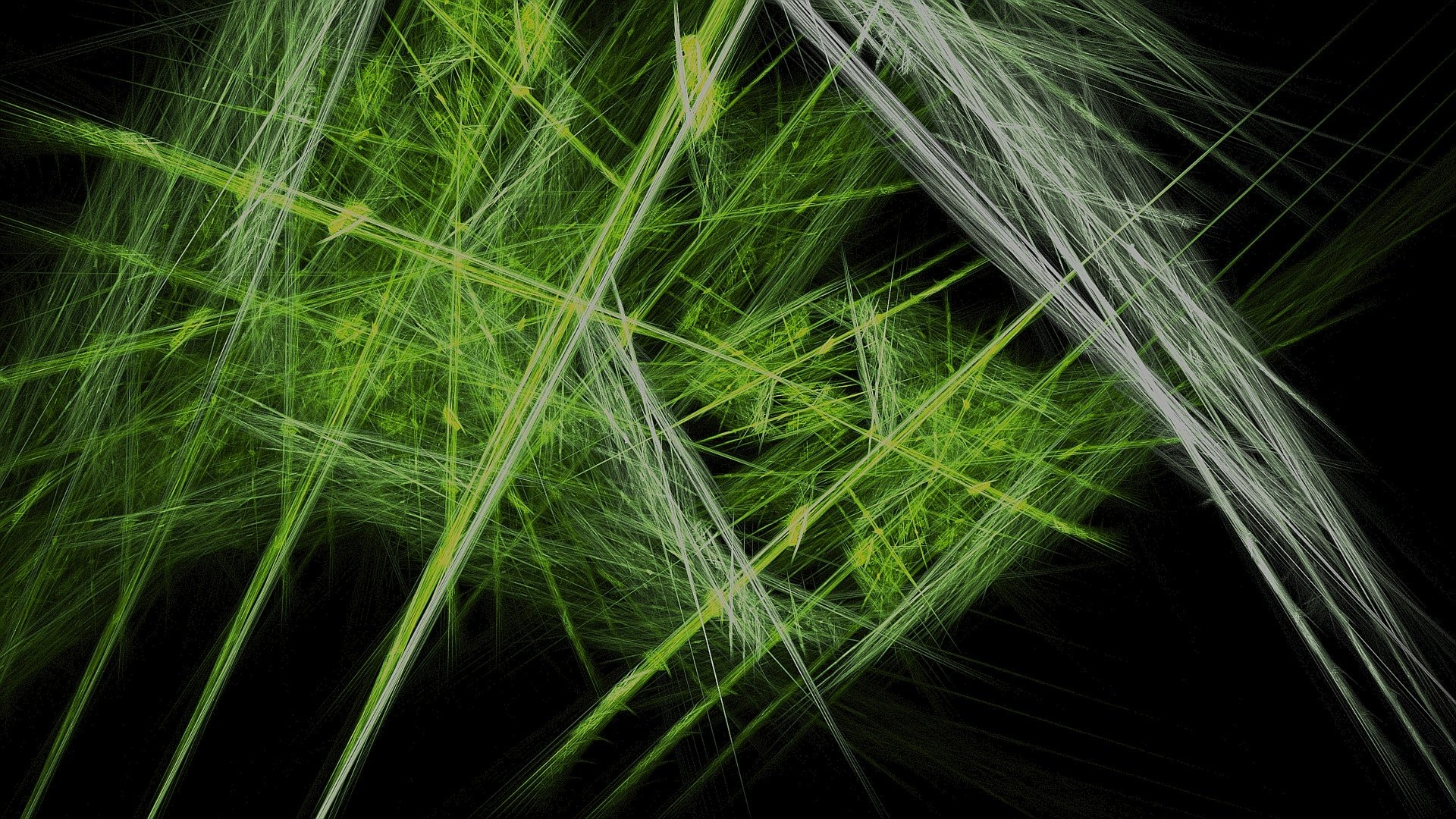 abstract black background fractal green lines 4k full hd iphone .