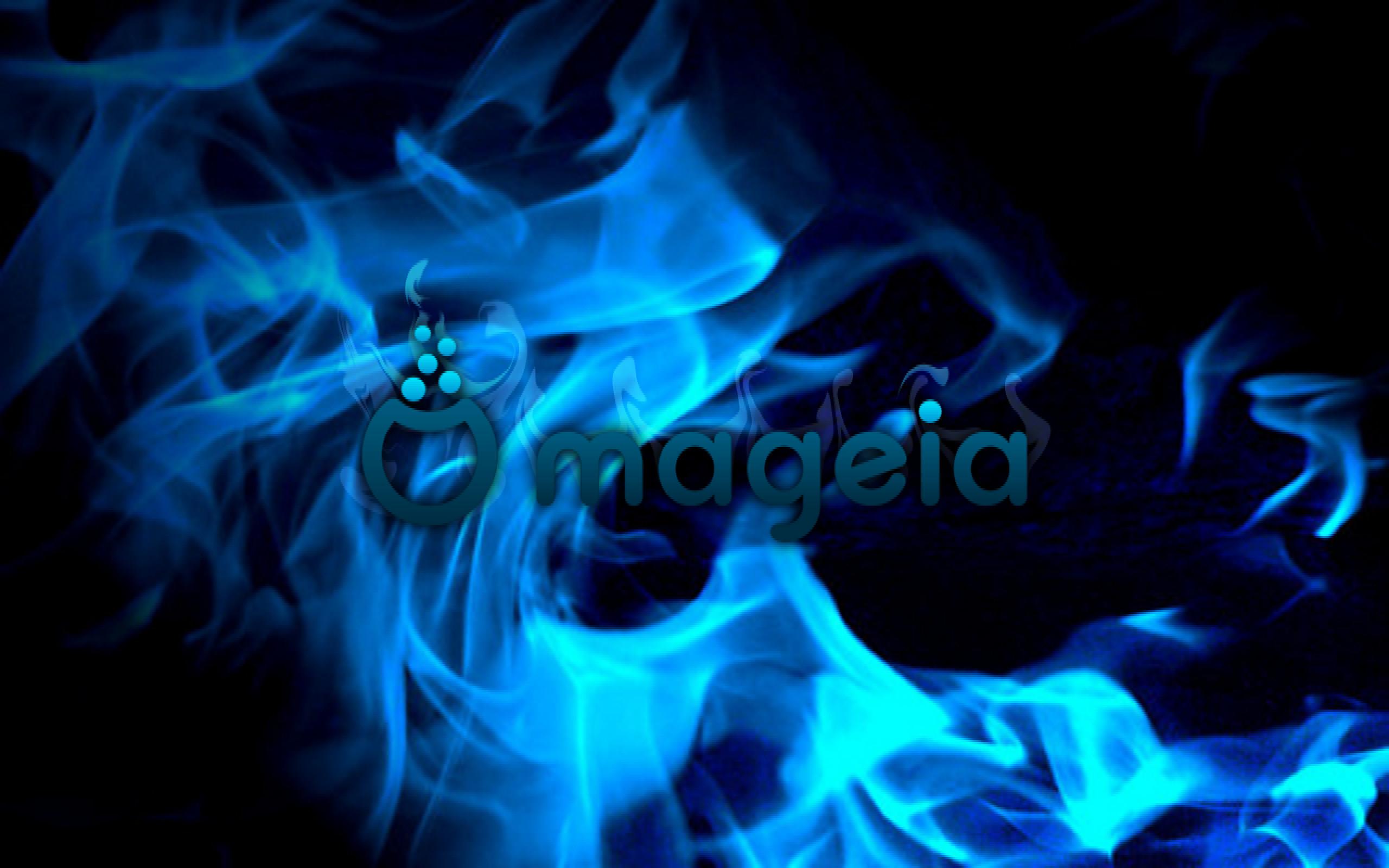 147795-Mageia_blue_fire_2560x1600. …