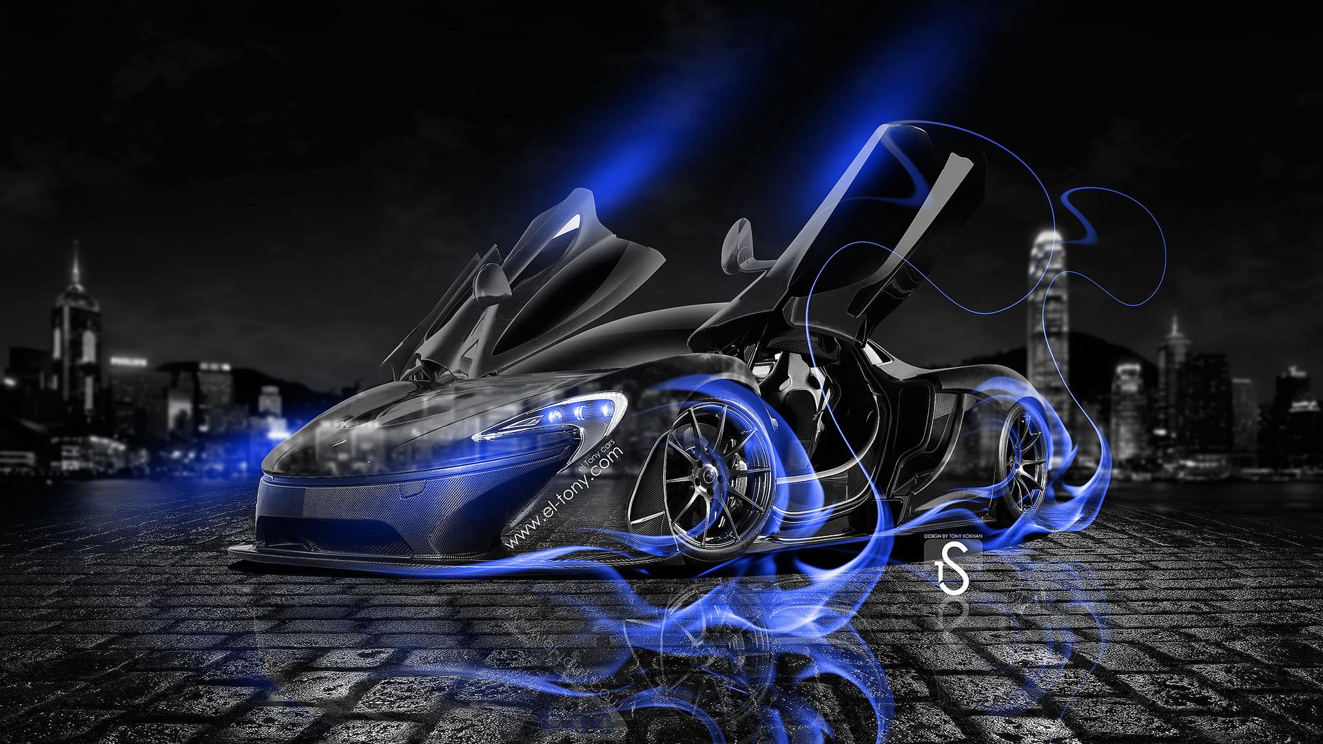 McLaren P1 GTR Blue Fire Abstract   ΣXΩTIC SUPΣRCARS ♚   Pinterest    Mclaren p1, Dream cars and Cars