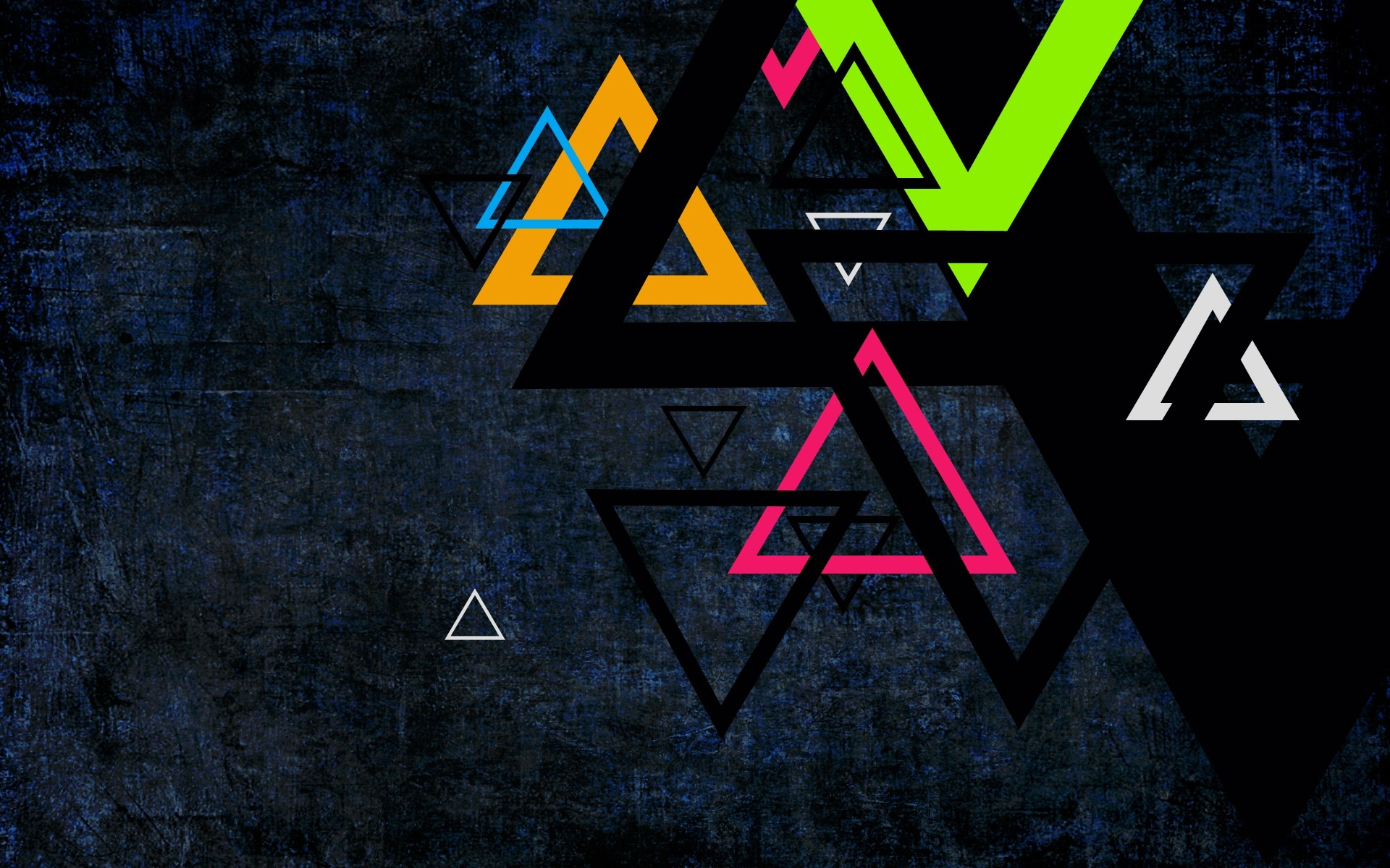 Wallpaper Triangle, Colored, Background, Dots, Color HD, Picture, Image