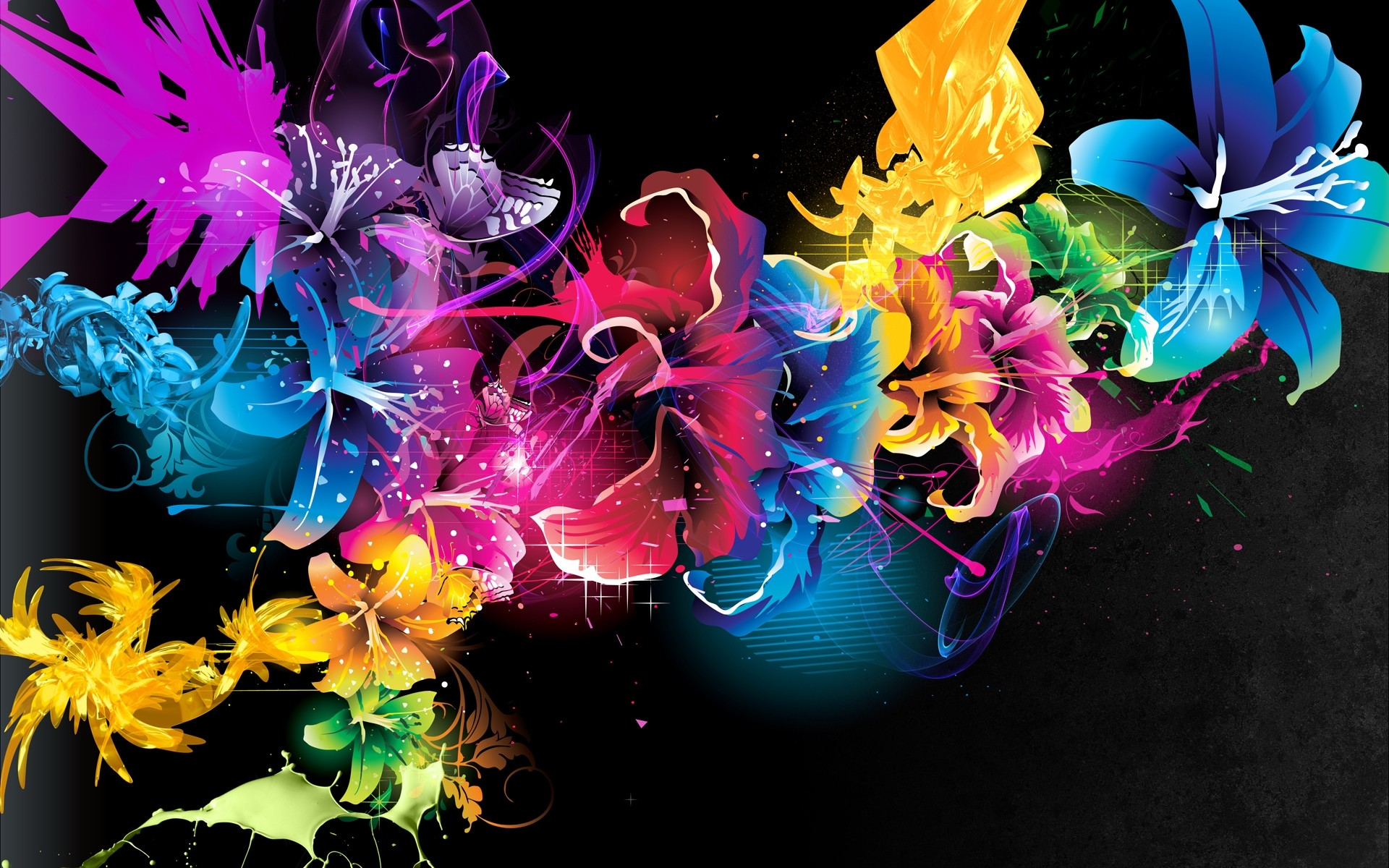 Color colorful bright Bright Colored Backgrounds