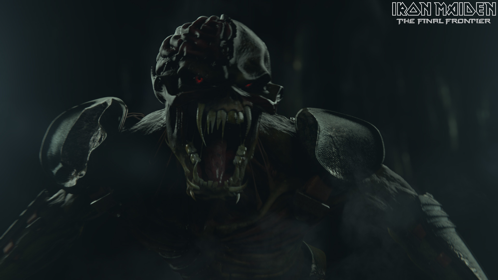 Iron Maiden heavy metal rock eddie monster creature dark wallpaper .