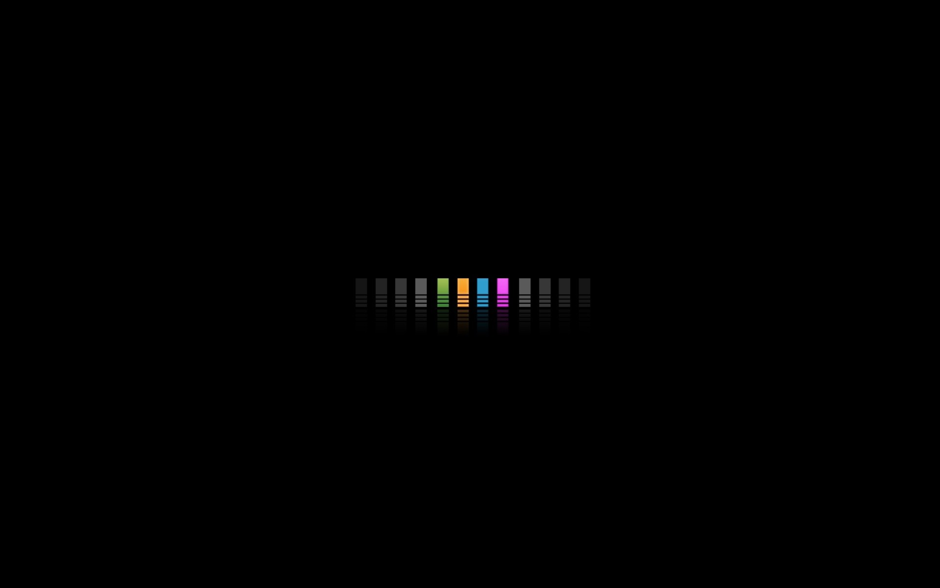 Wallpaper Color, Bright, Sated, Black