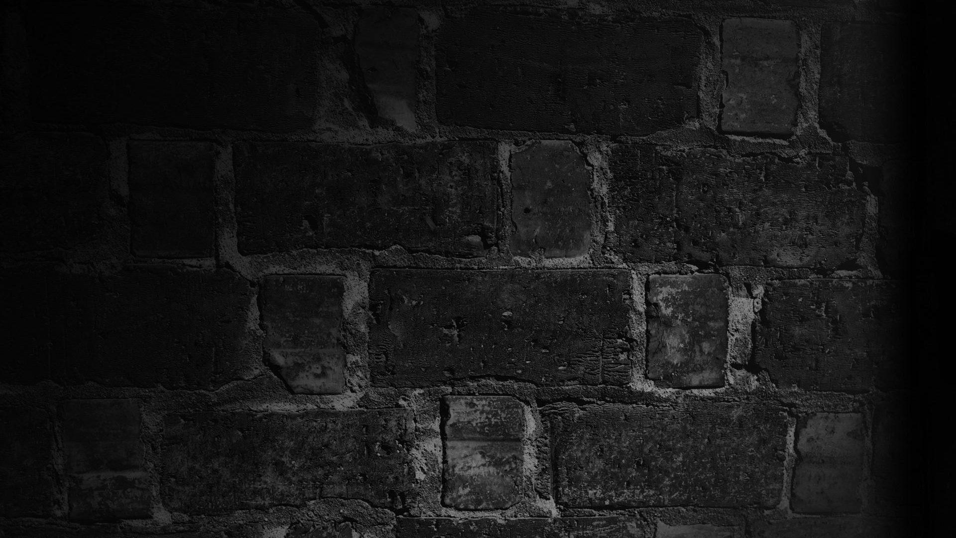 Black color Wall brick texture 4k HD background wallpaper .