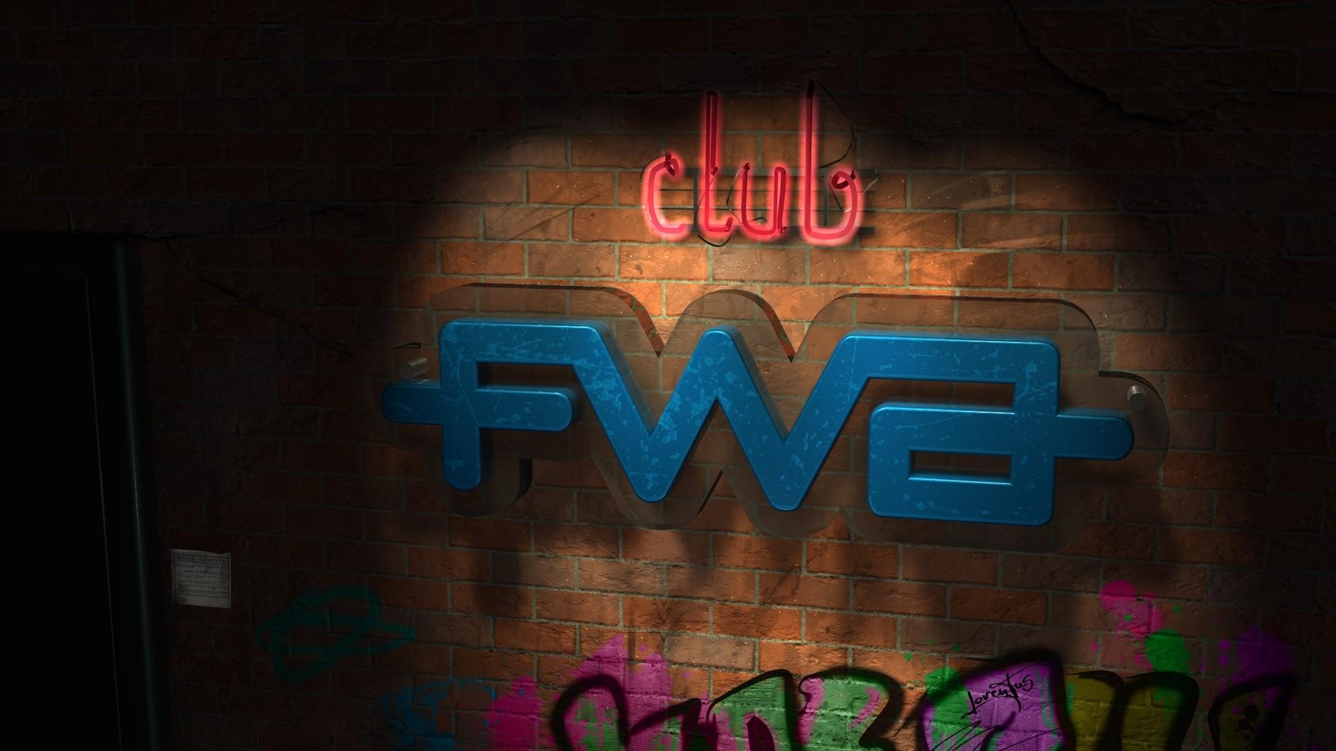 Wallpaper fwa, club, black, color, sign, graffiti