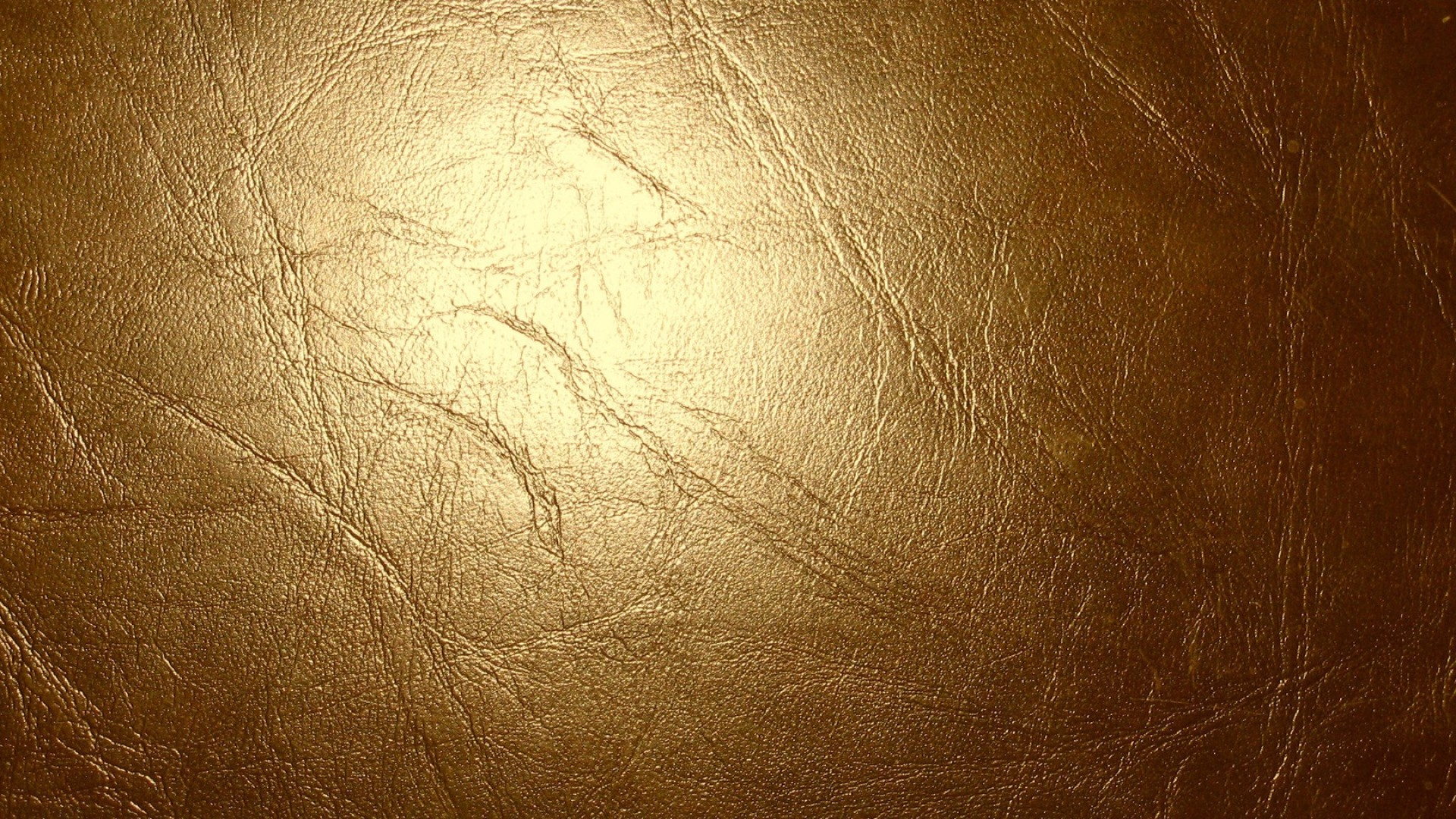 Preview wallpaper leather, gold, glitter, cracks, texture 1920×1080