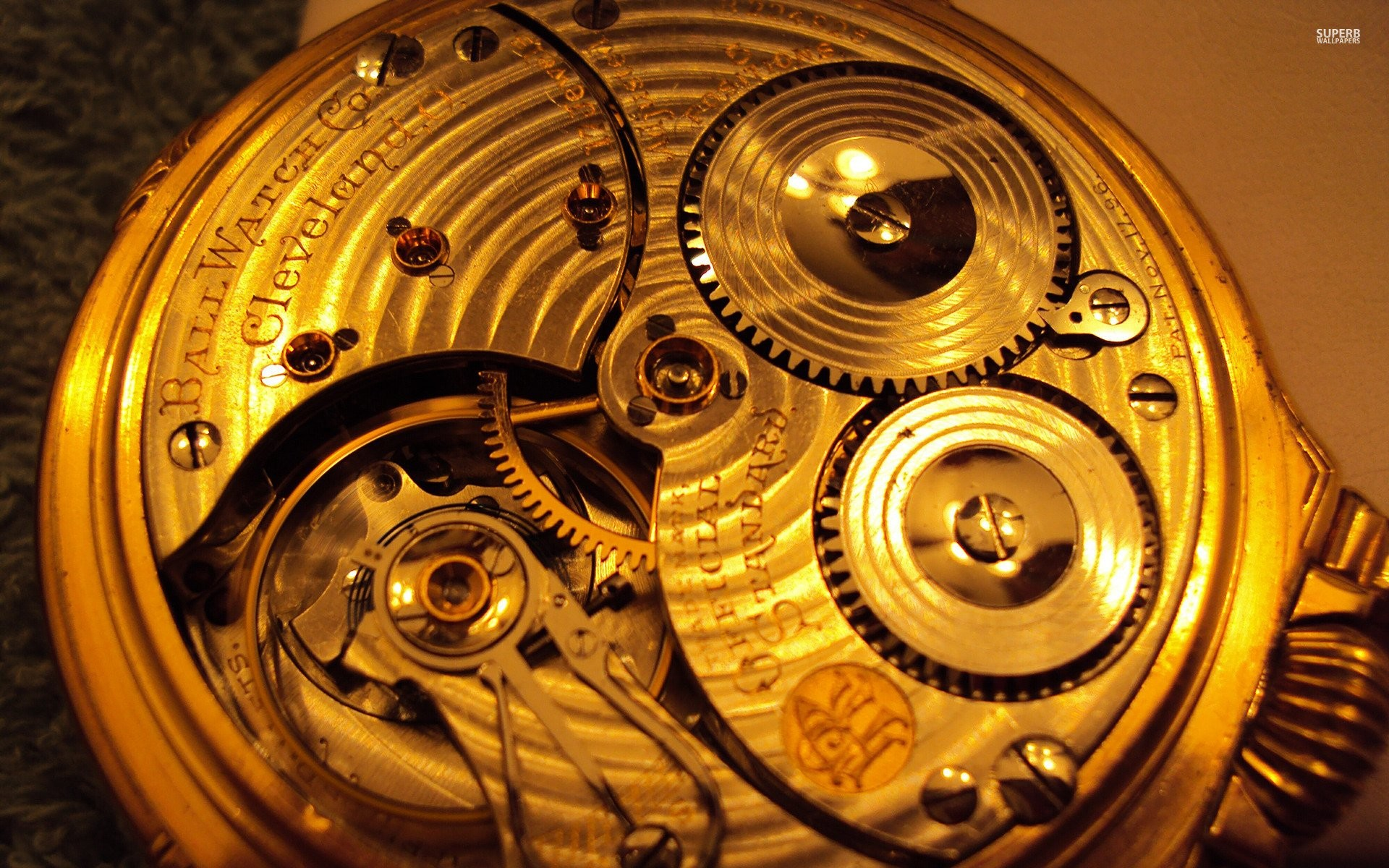 Gold Watch Mechanism