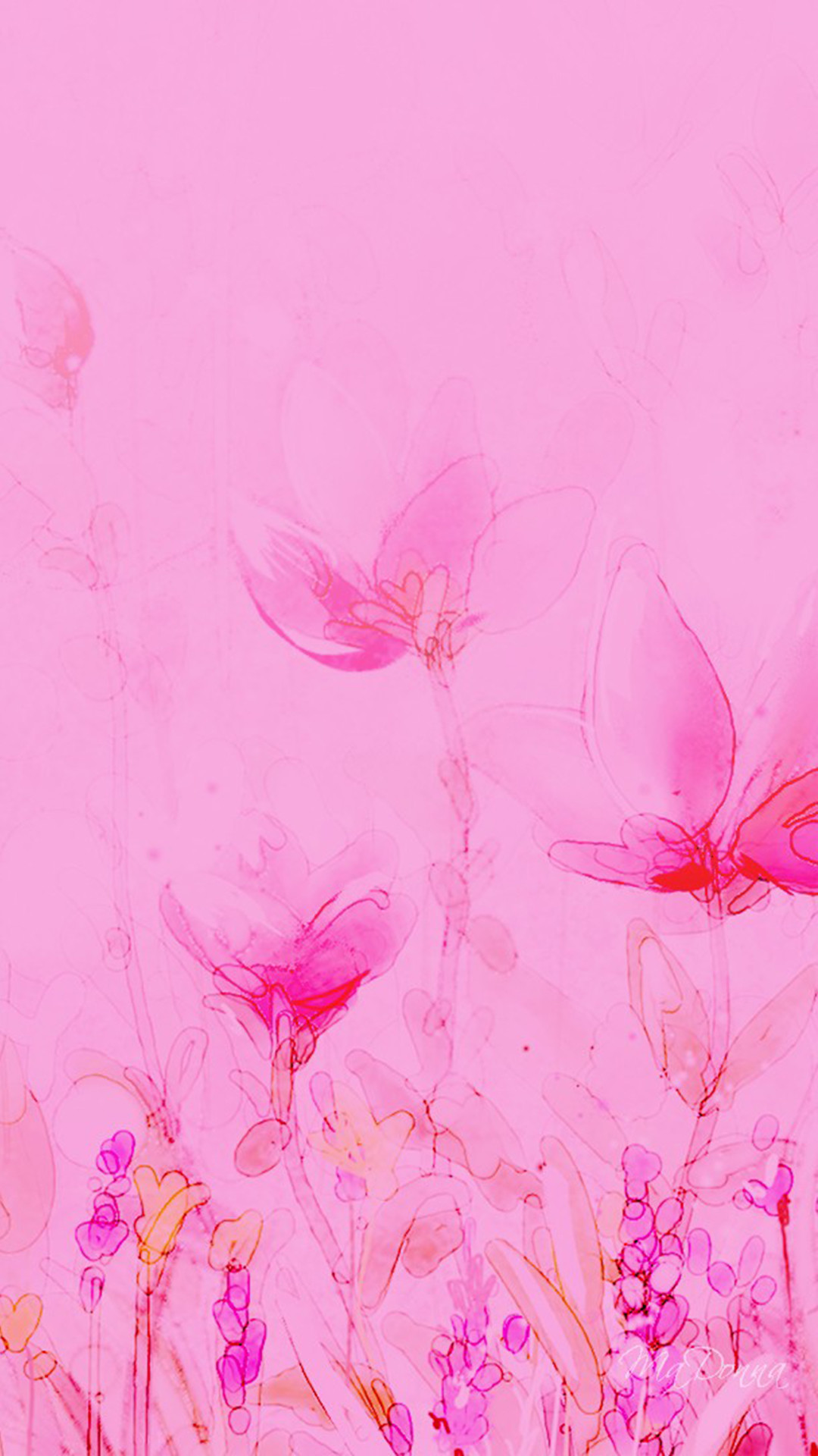 Download Pink Abstract Wallpaper iphone 6 Plus