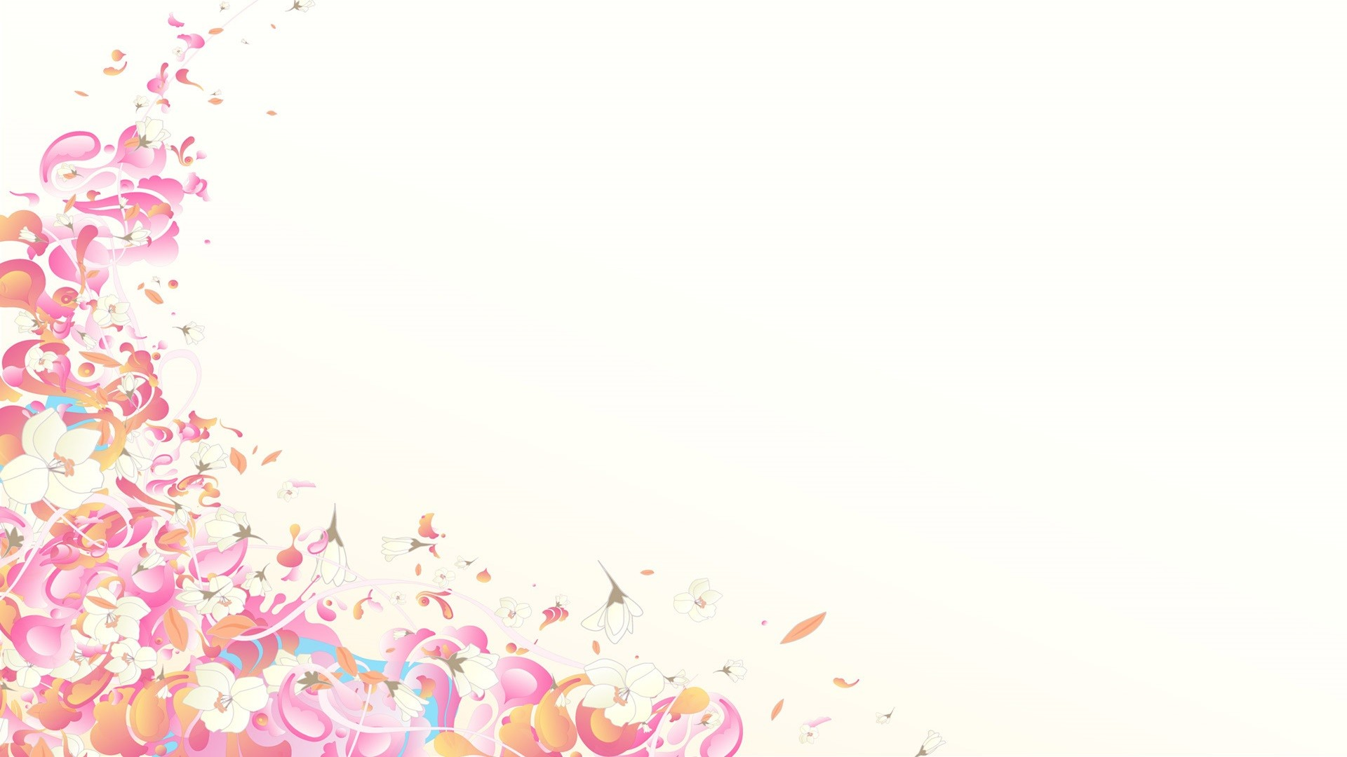 pink and white abstract wallpaper – Wallpaper